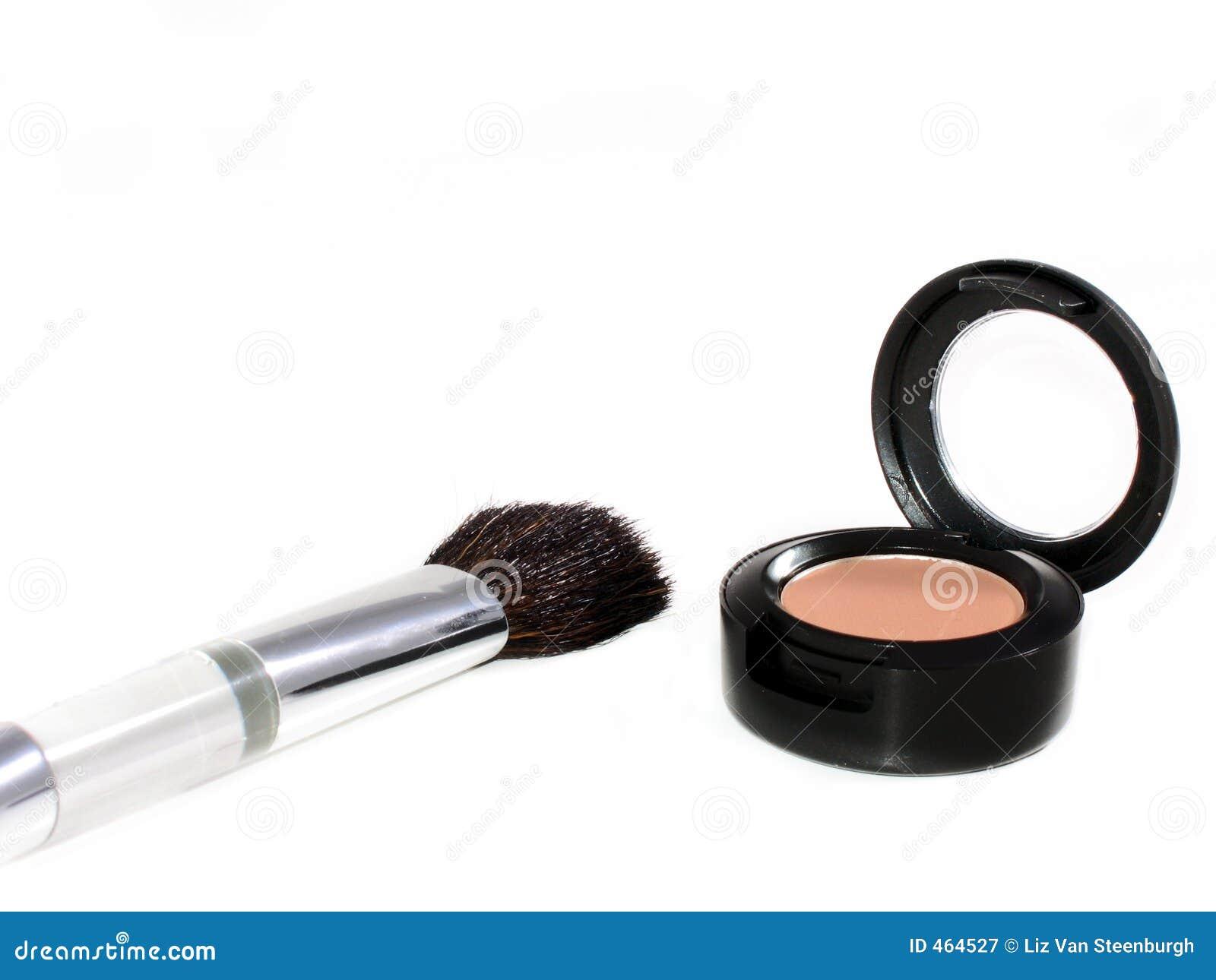 Eyeshadow And Brush