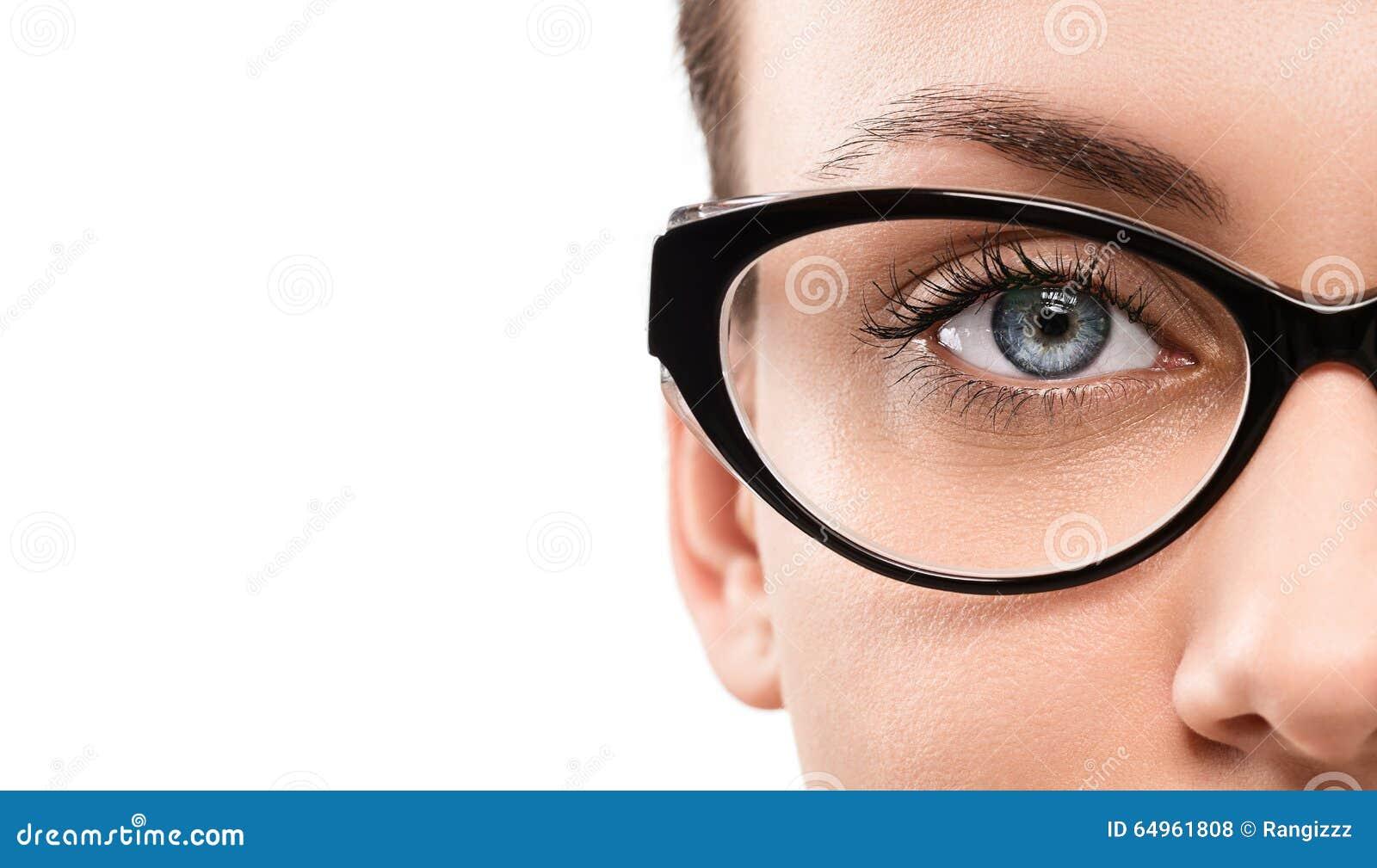 Eyewear Stock Photo. Image Of Macro, Isolated, Human