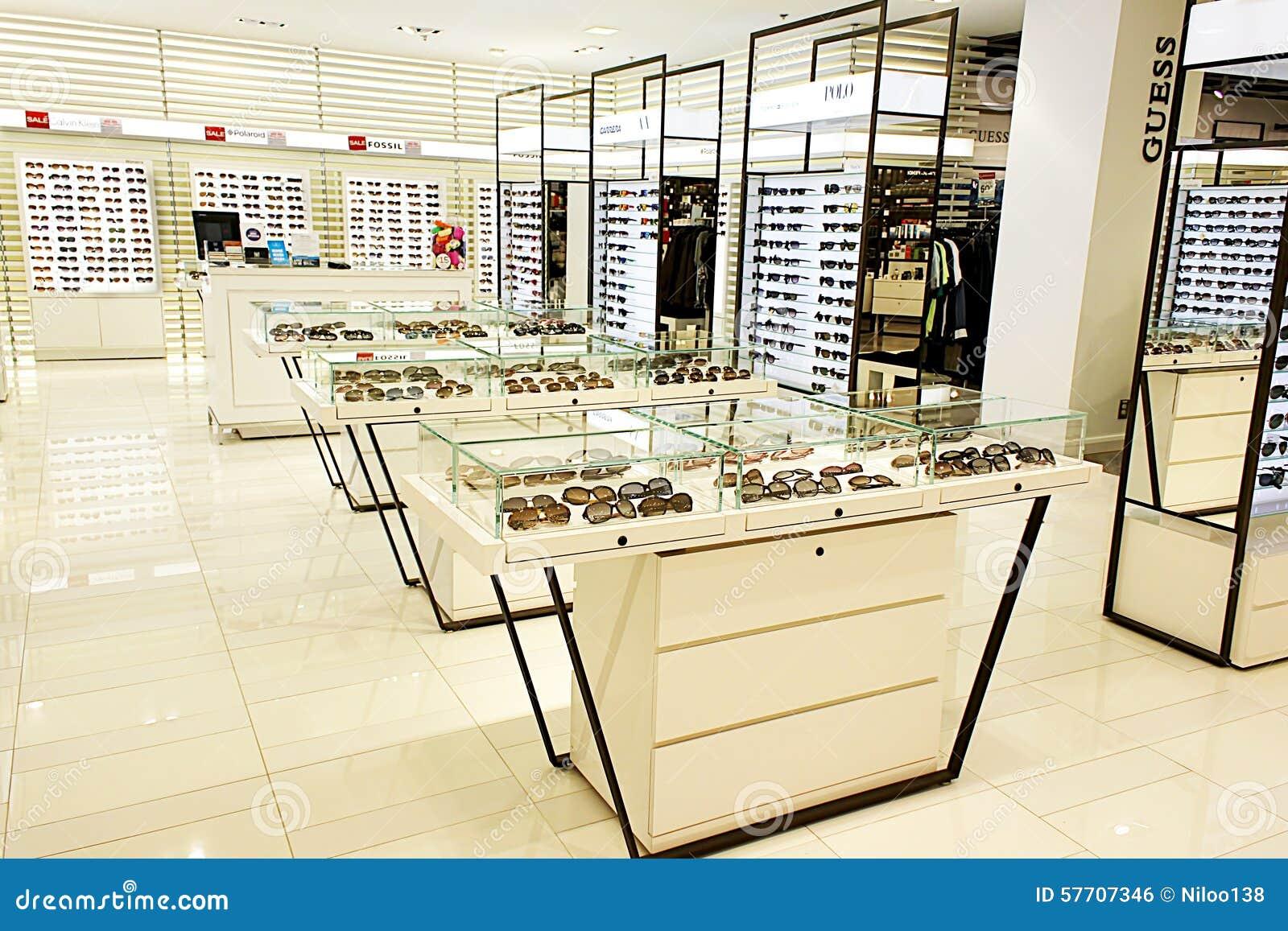 eyewear shop  Eyewear And Sunglasses In Optician Store Editorial Photo - Image ...