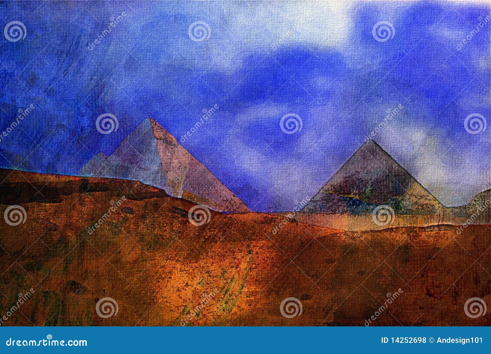 Eygpt αρχικές πυραμίδες ζωγρ&alp