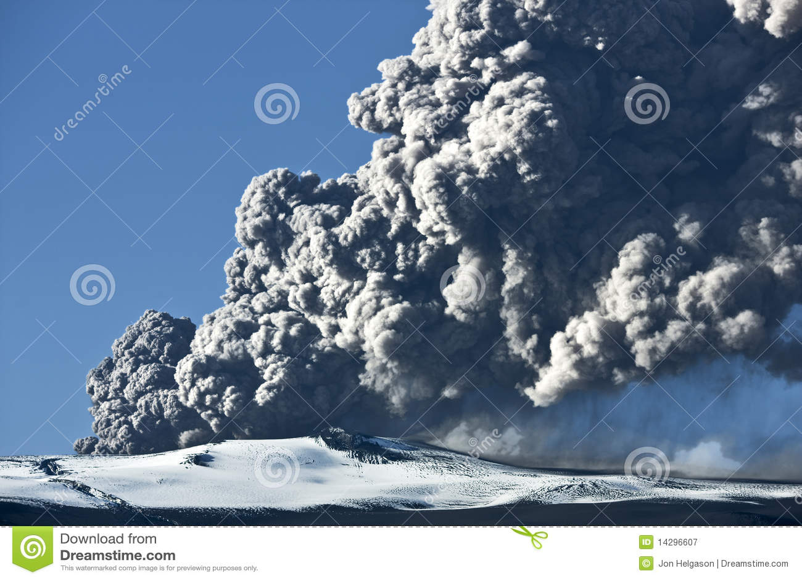Eyjafjallajokull ηφαίστειο