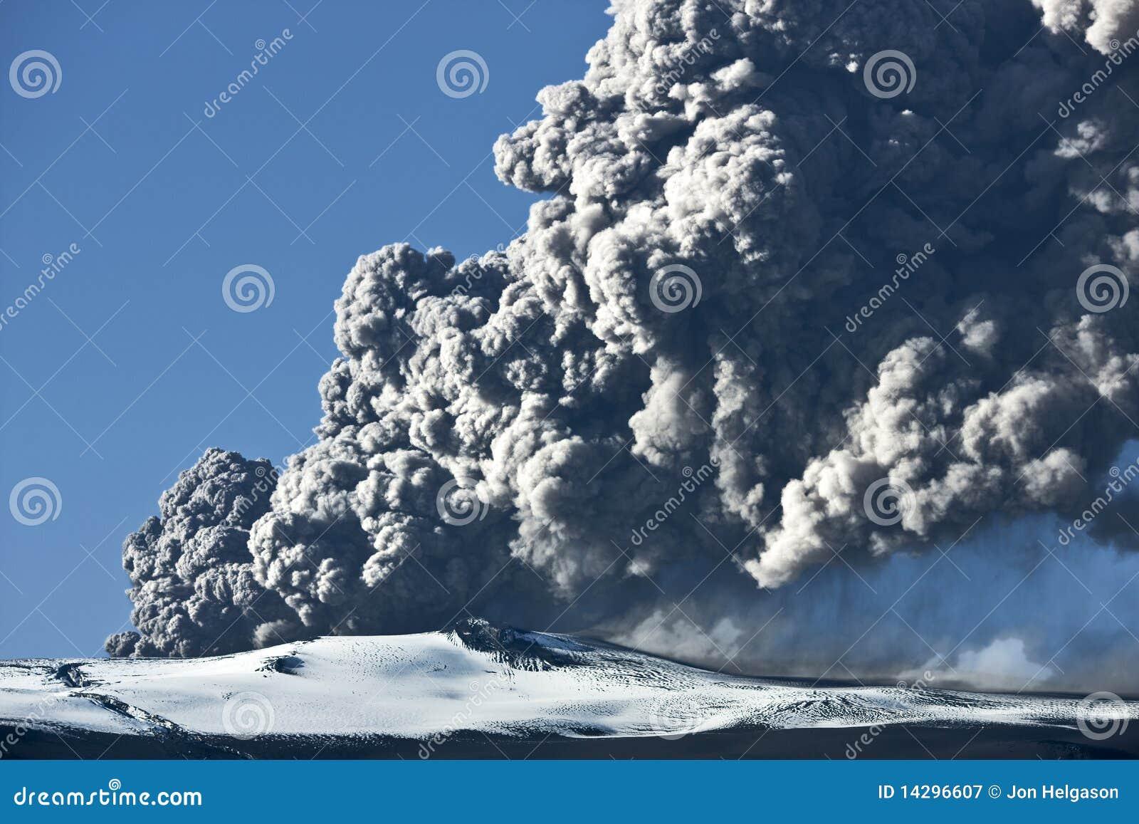 Eyjafjallajokull Vulkan