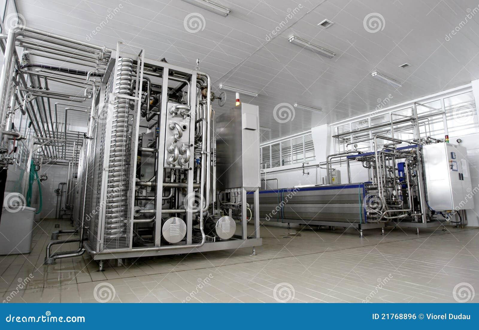 Fábrica de la lechería