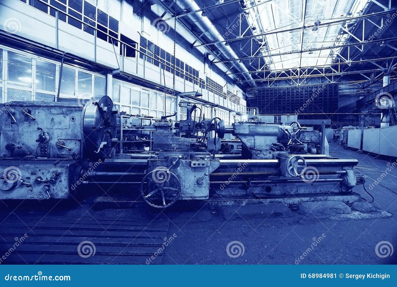 Fábrica de la maquinaria