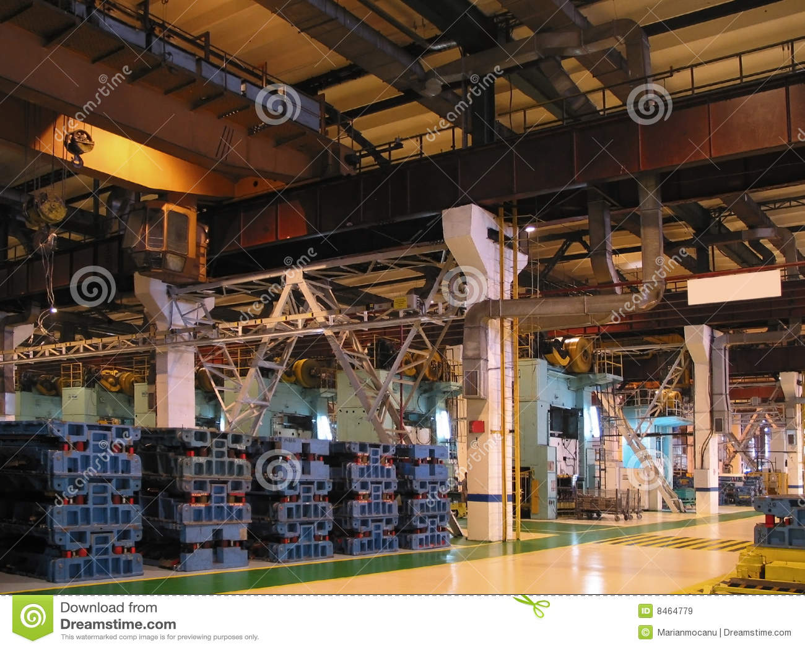 Fábrica interior