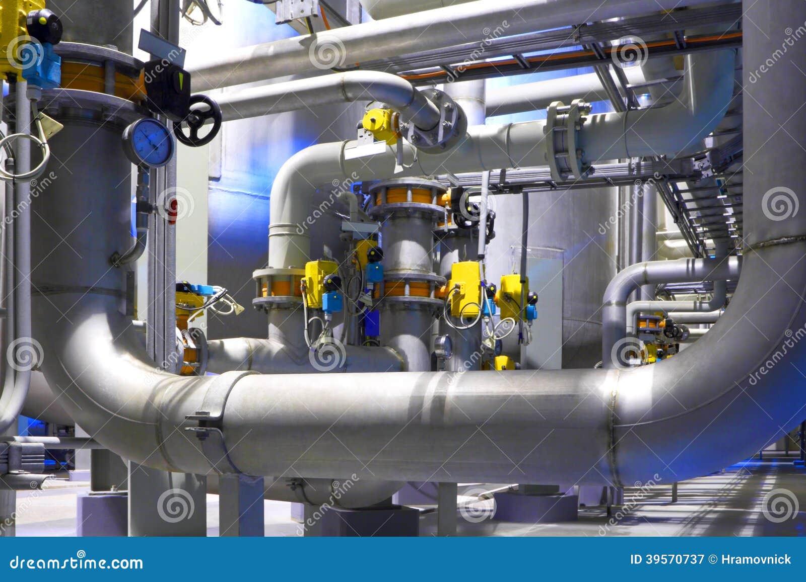 Fábrica química