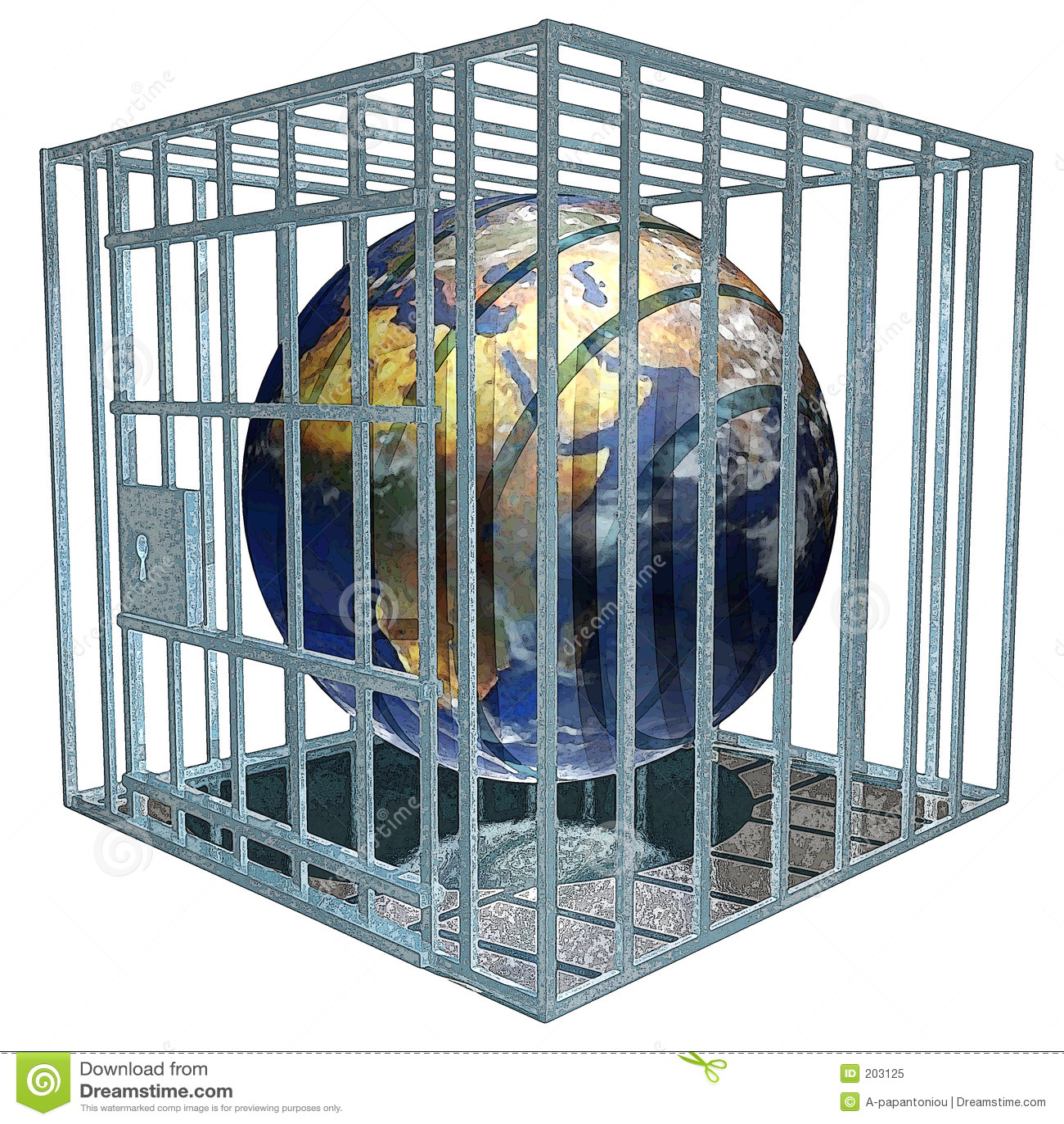 Fängslad jord