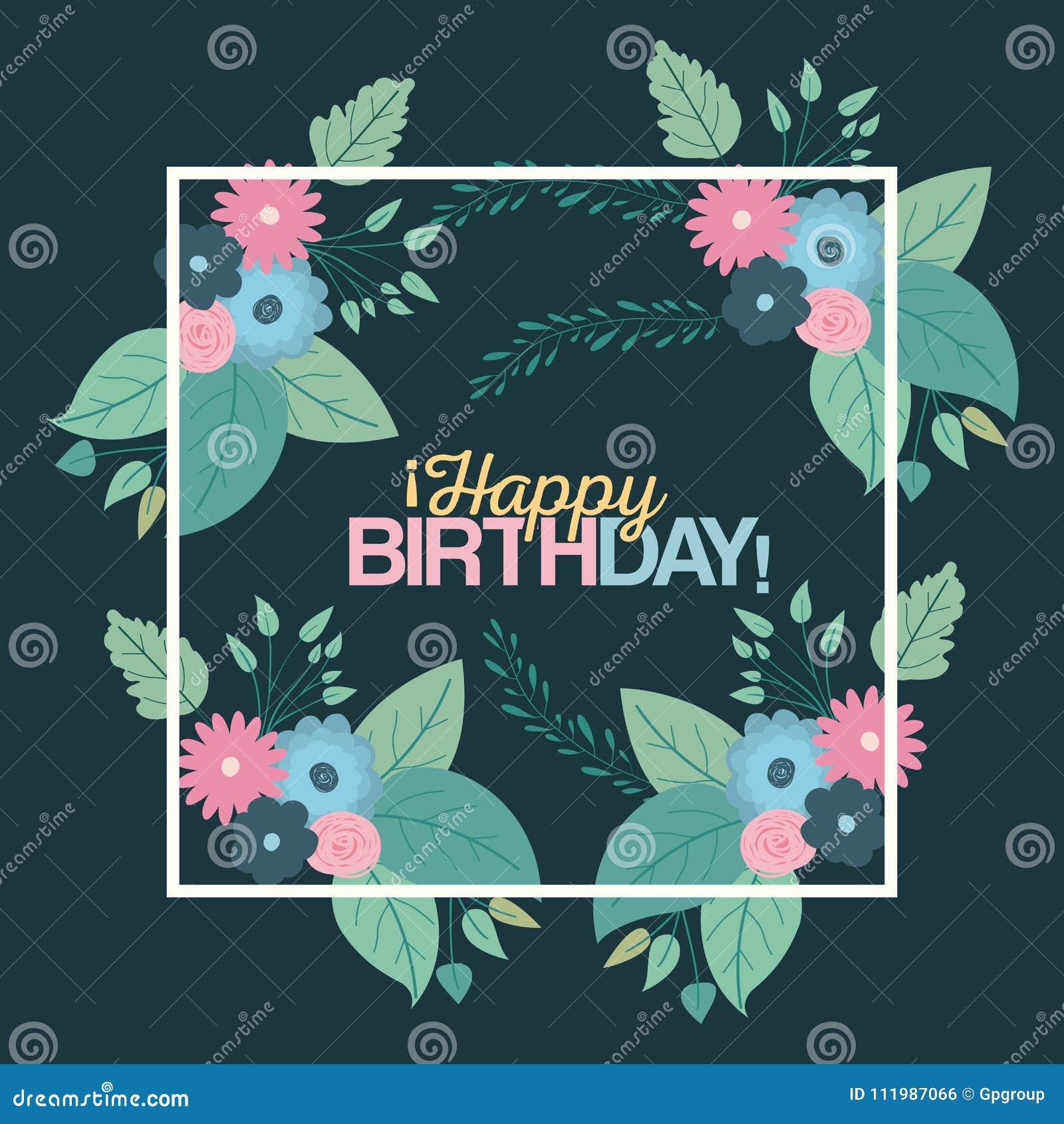 Schön Alles Gute Zum Geburtstagskarte Zu Färben Zeitgenössisch ...