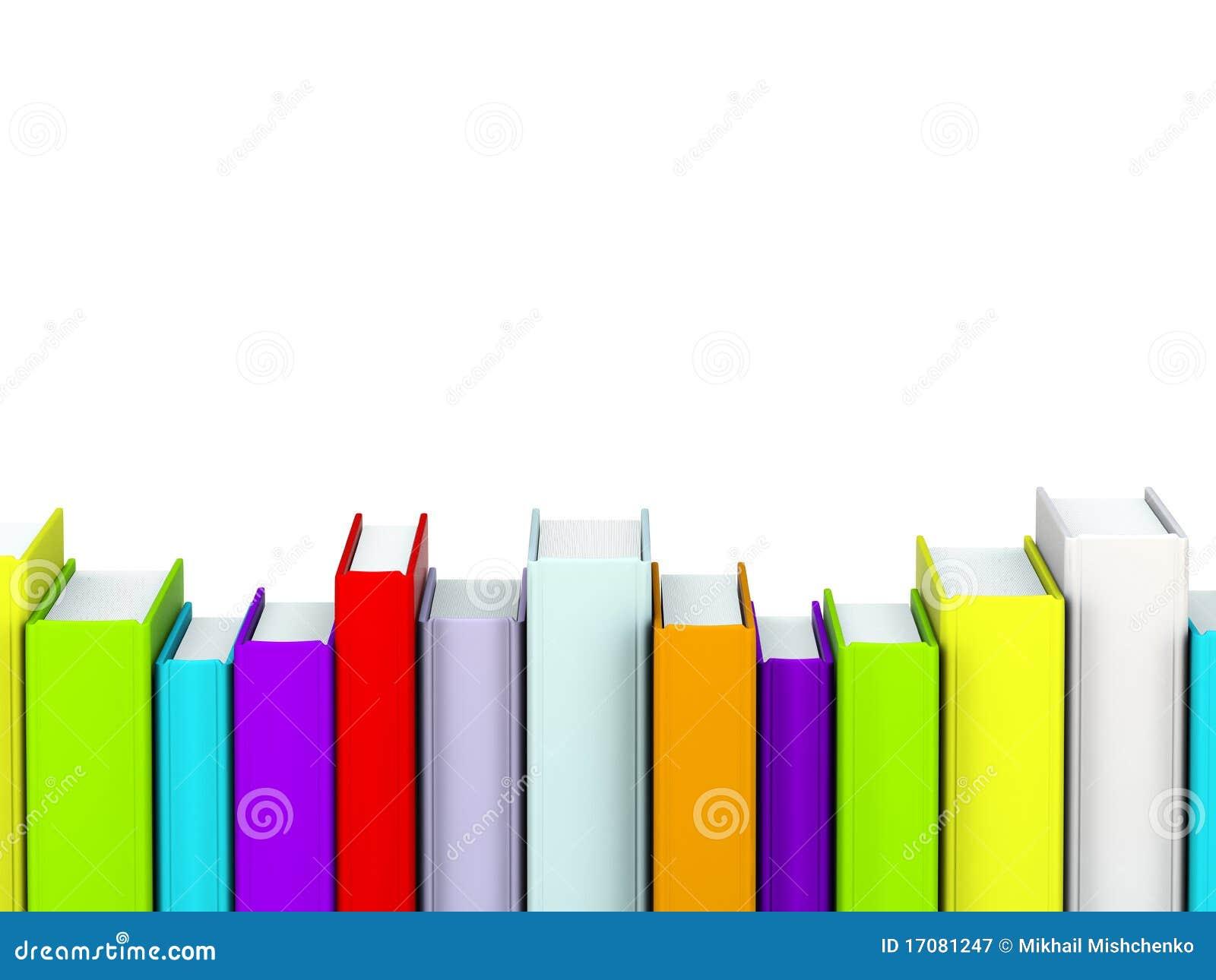Färgade böcker