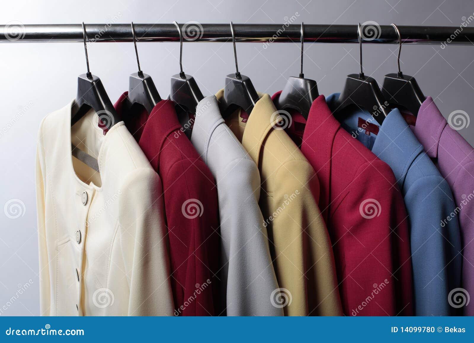 Färgade blazers