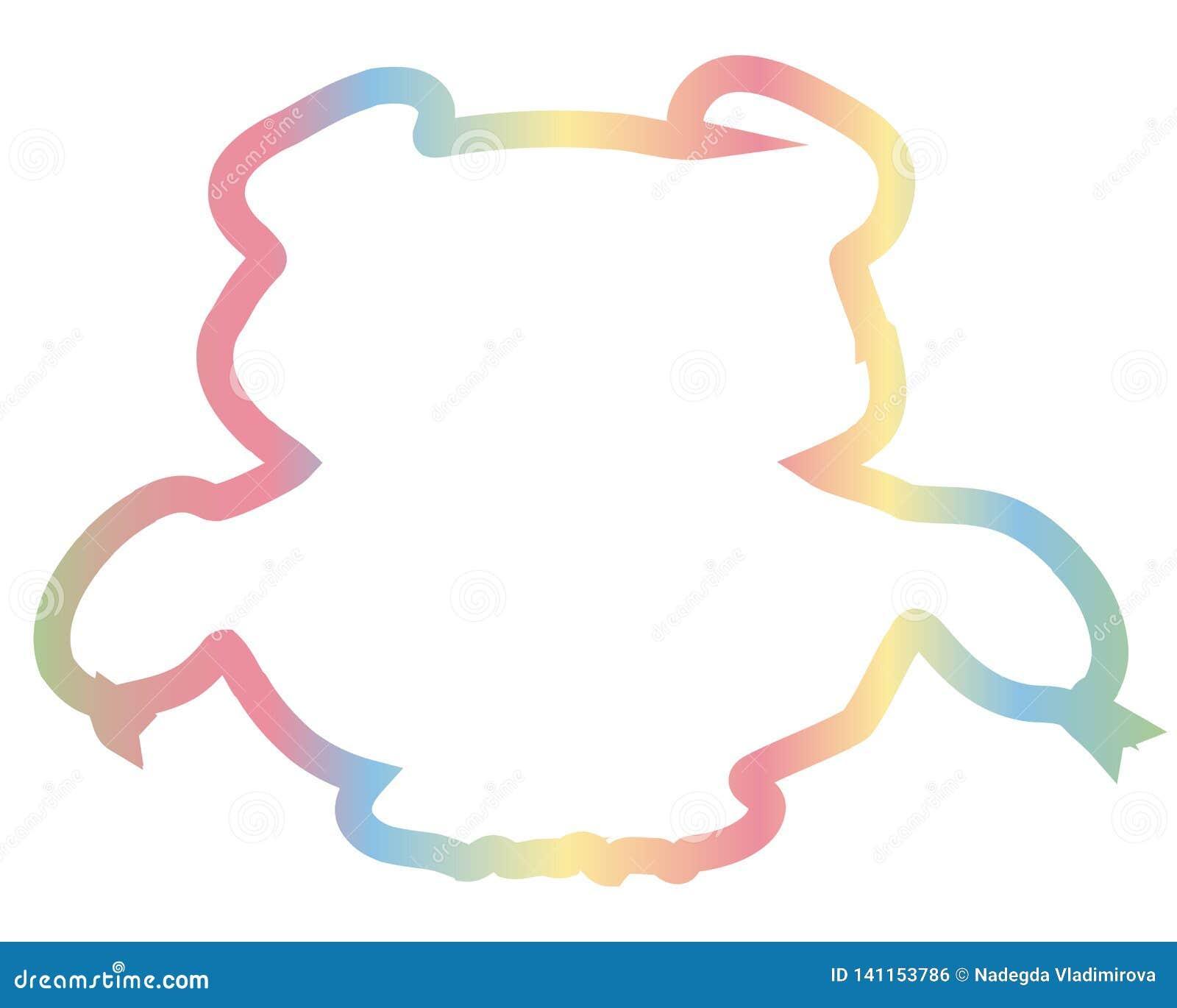 Färgbjörn Löst djur för enormt fä