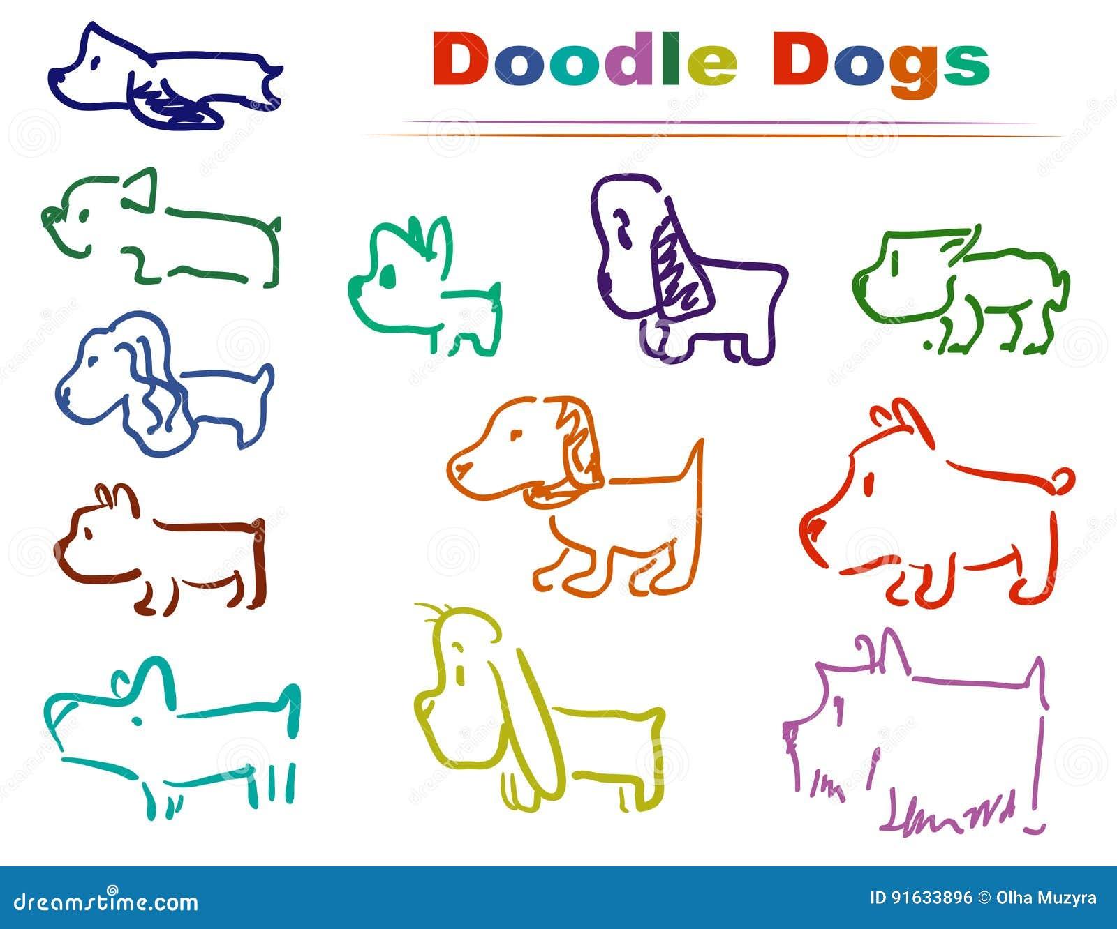 Färger för klotterhund 002