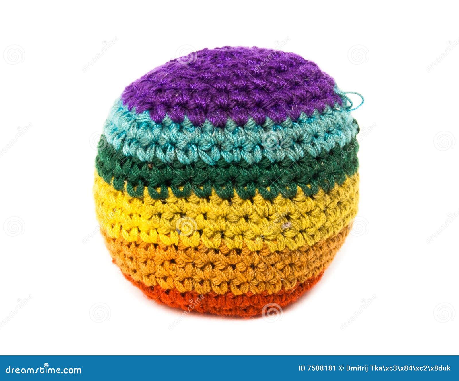 Färgfootbag