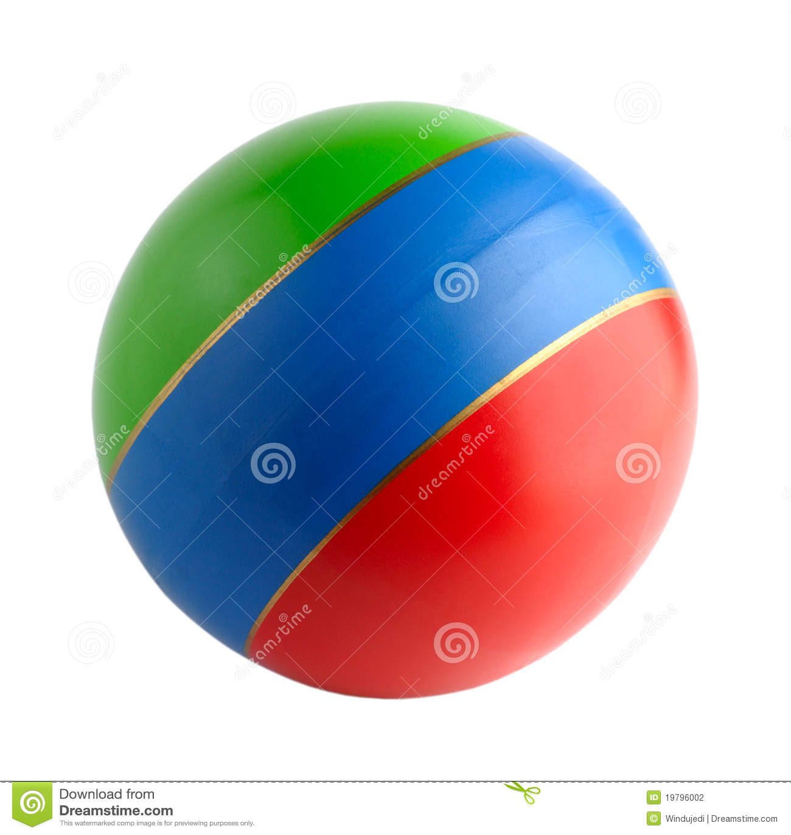 Färgglad rubber toy för boll