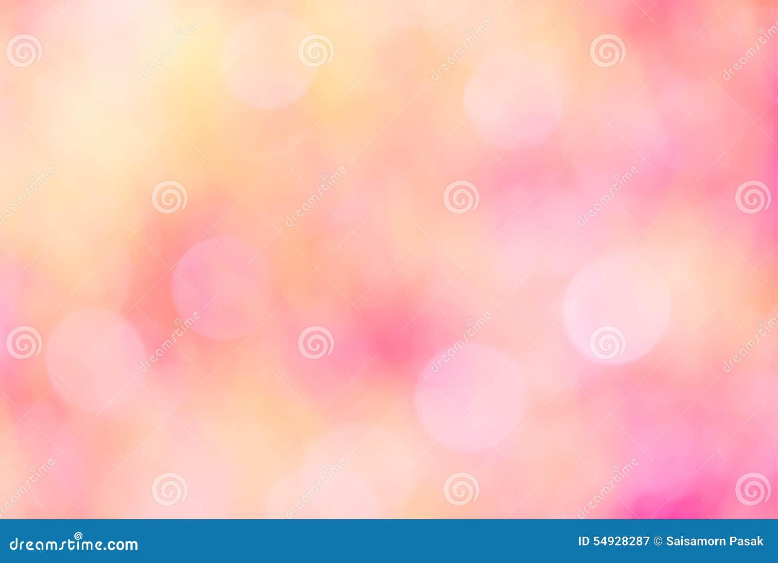 Färgglat av suddiga söta rosa färger för bokehljus