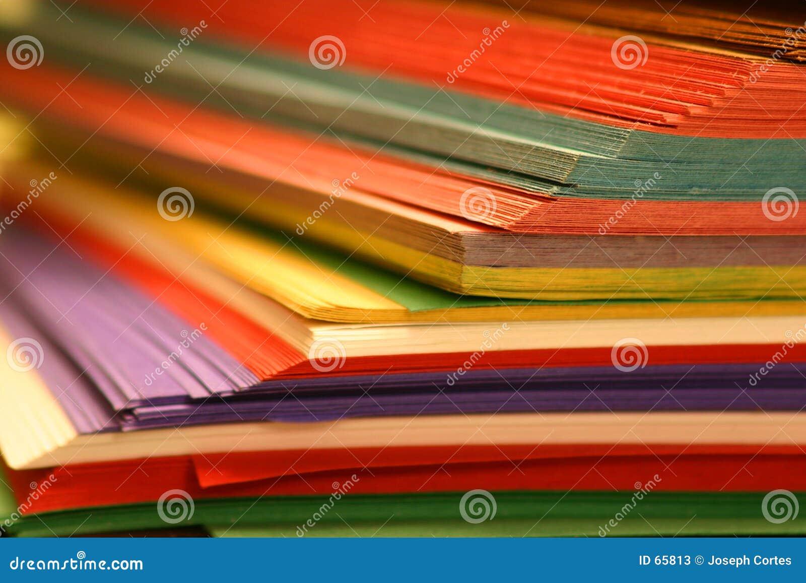 Färgpapper