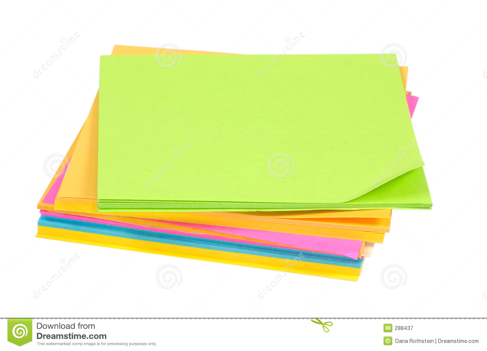 Färgpostits