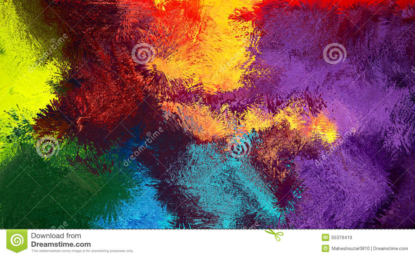 Färgrik abstrakt bakgrund Digital för abstrakt konst