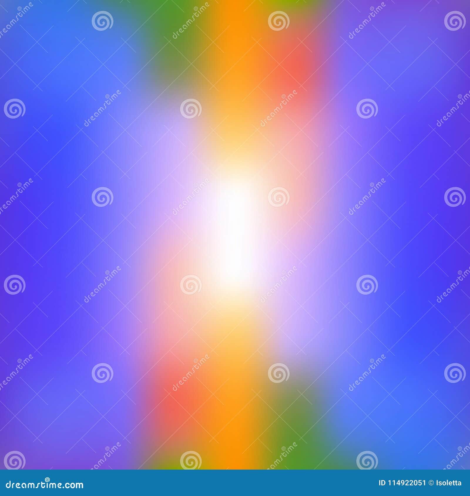 Färgrik abstrakt ljus suddig bakgrund i vibrerande färger Dekorativ designtextur