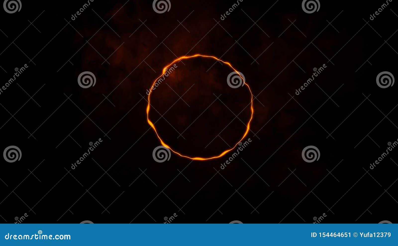 Färgrik cirkelenergibeståndsdel Texturbakgrundsdesign