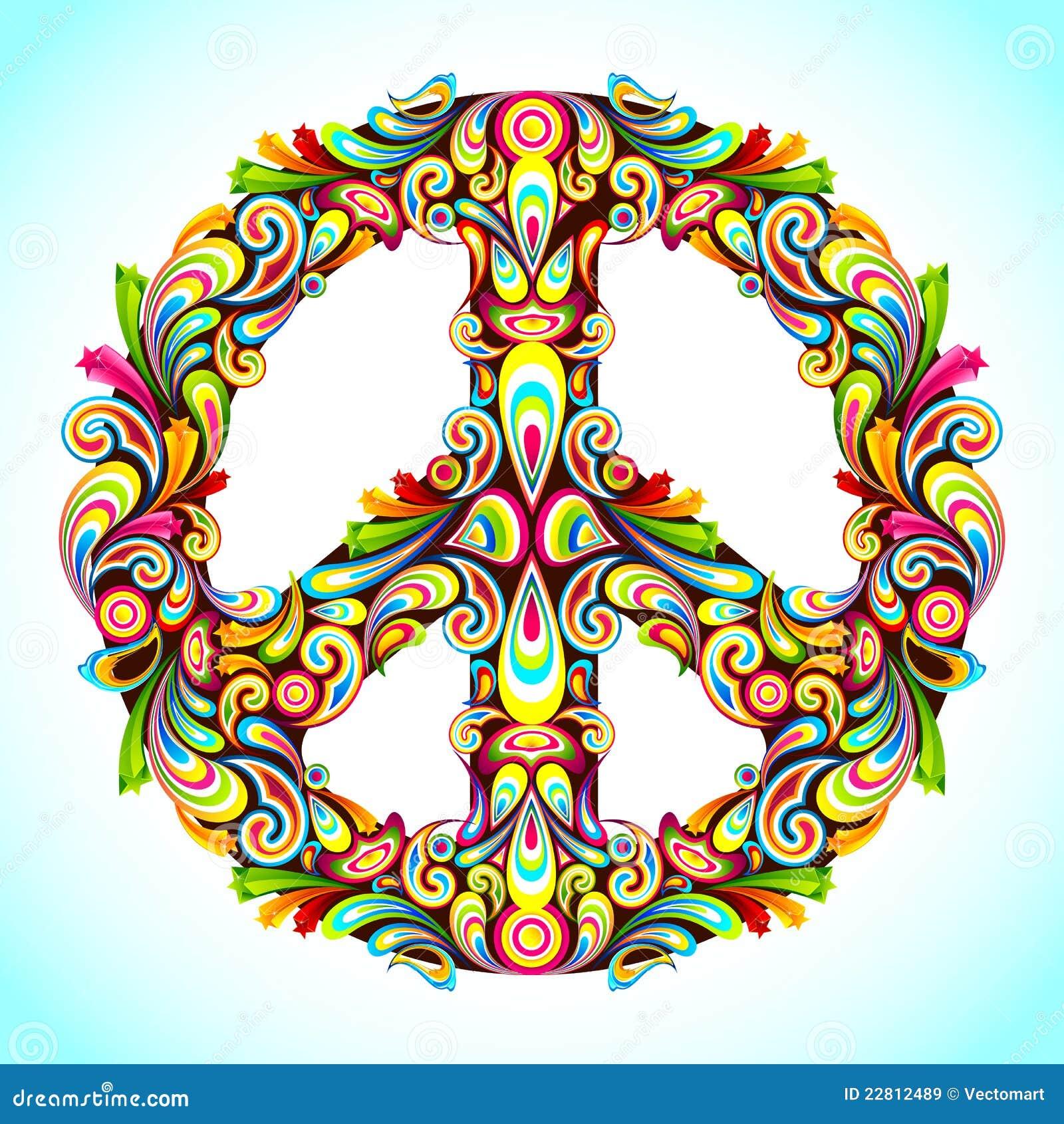Färgrik fred