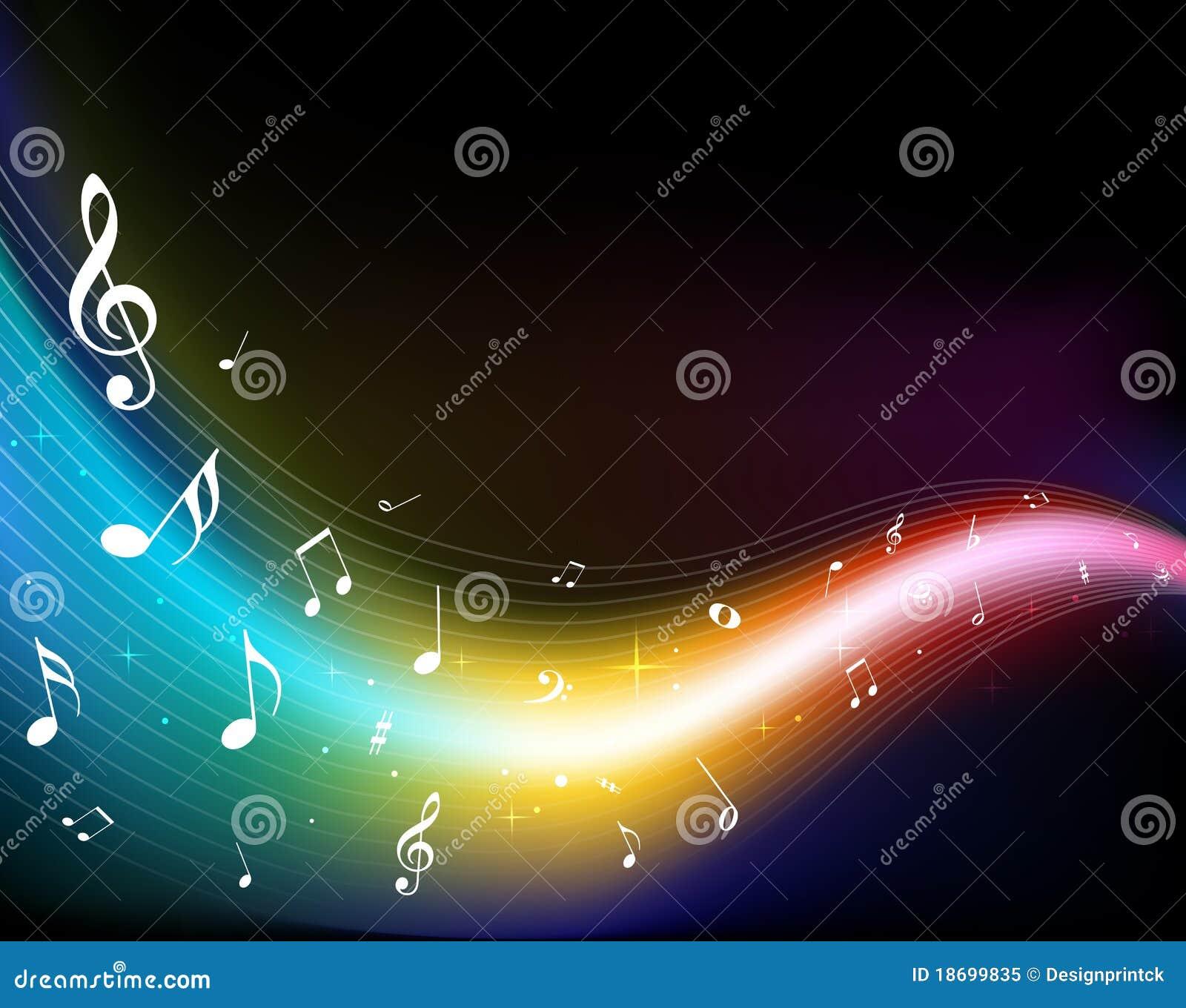 Färgrika musikanmärkningar