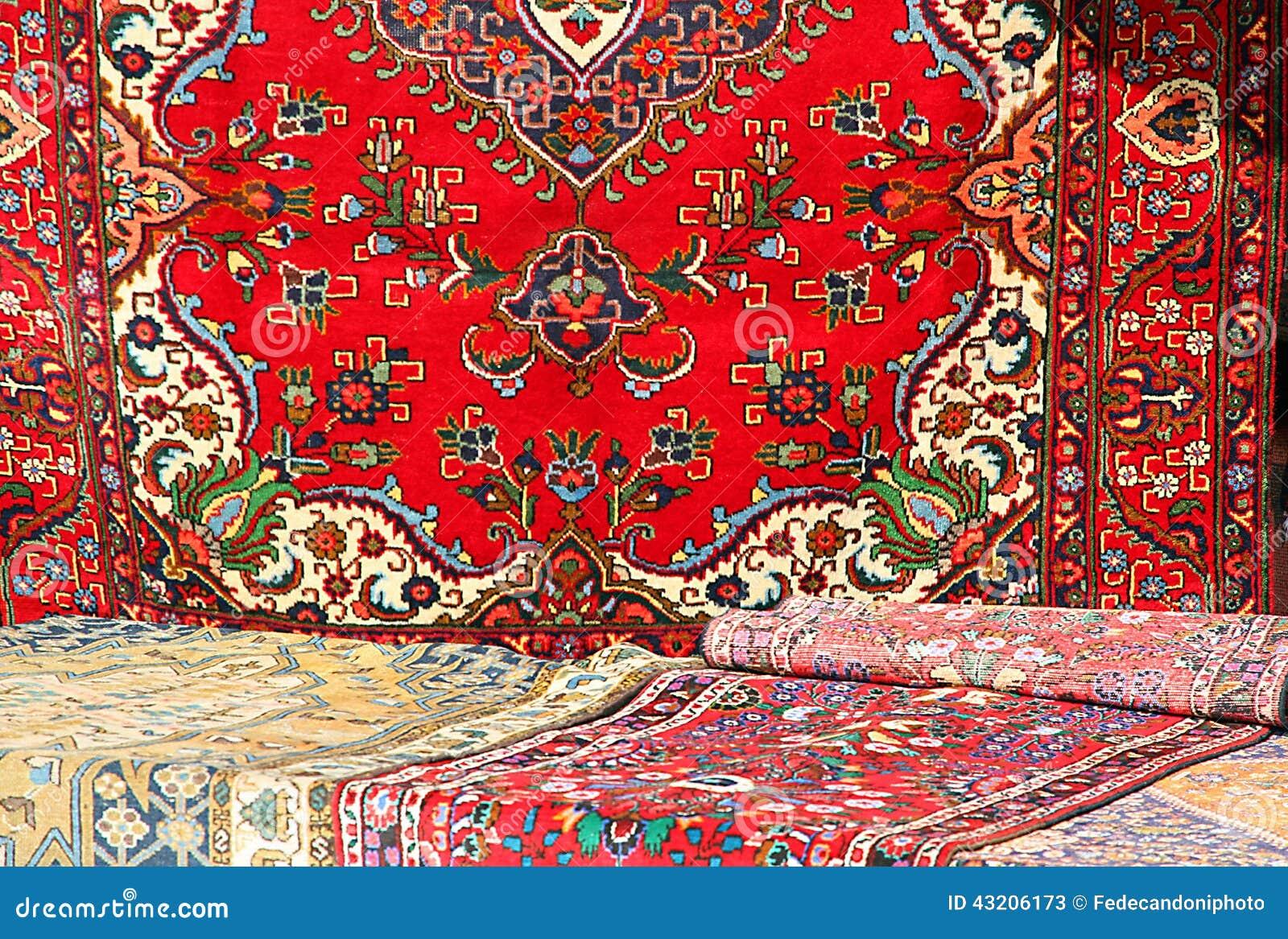 Download Färgrika Och Härliga Orientaliska Filtar I Ren Jungfrulig Ull 1 Fotografering för Bildbyråer - Bild av rött, egypt: 43206173