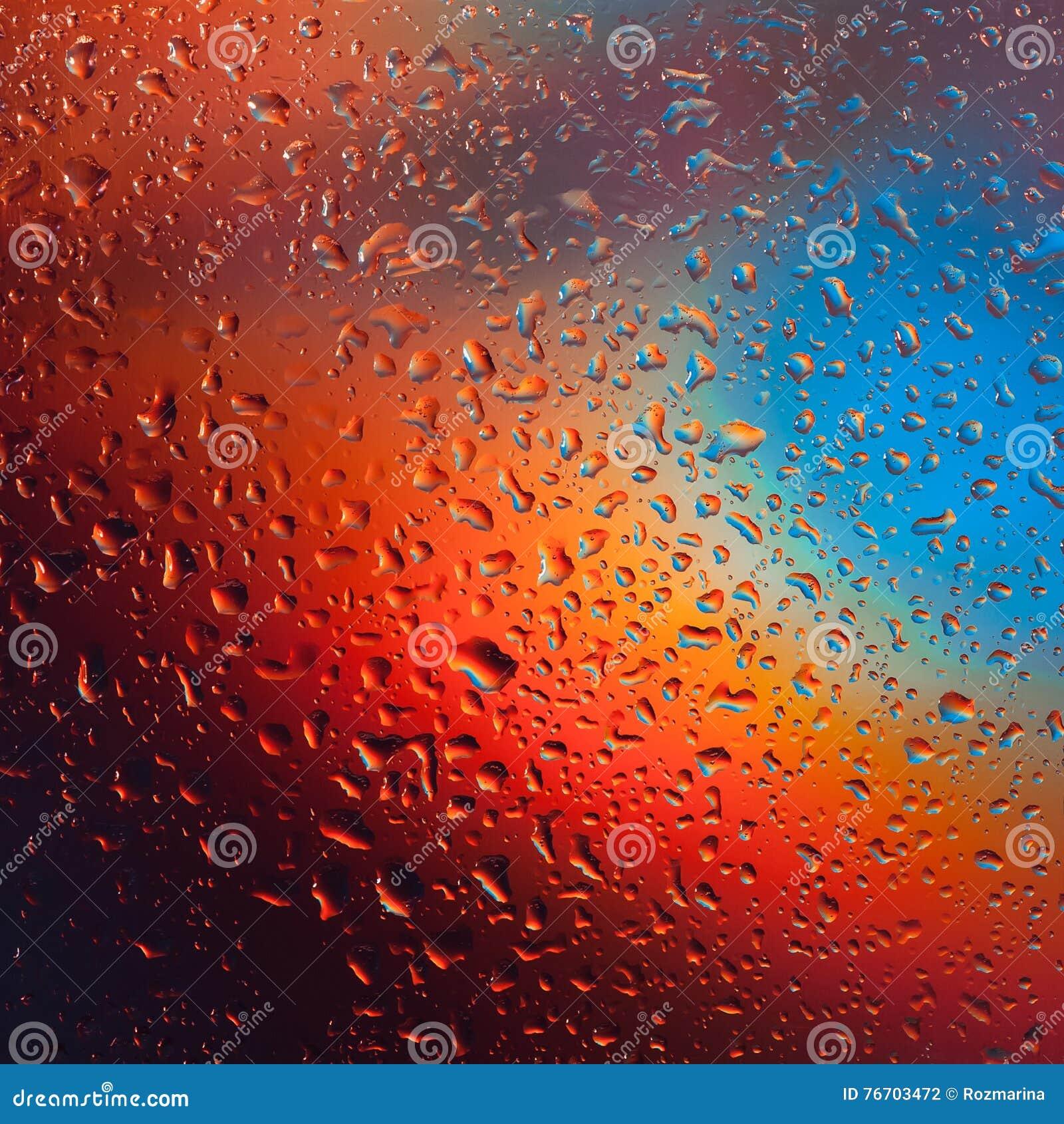 Färgrikt droppvatten för bakgrund
