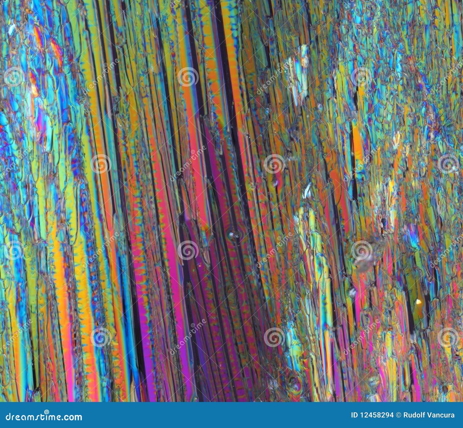 Färgrikt kristallsocker