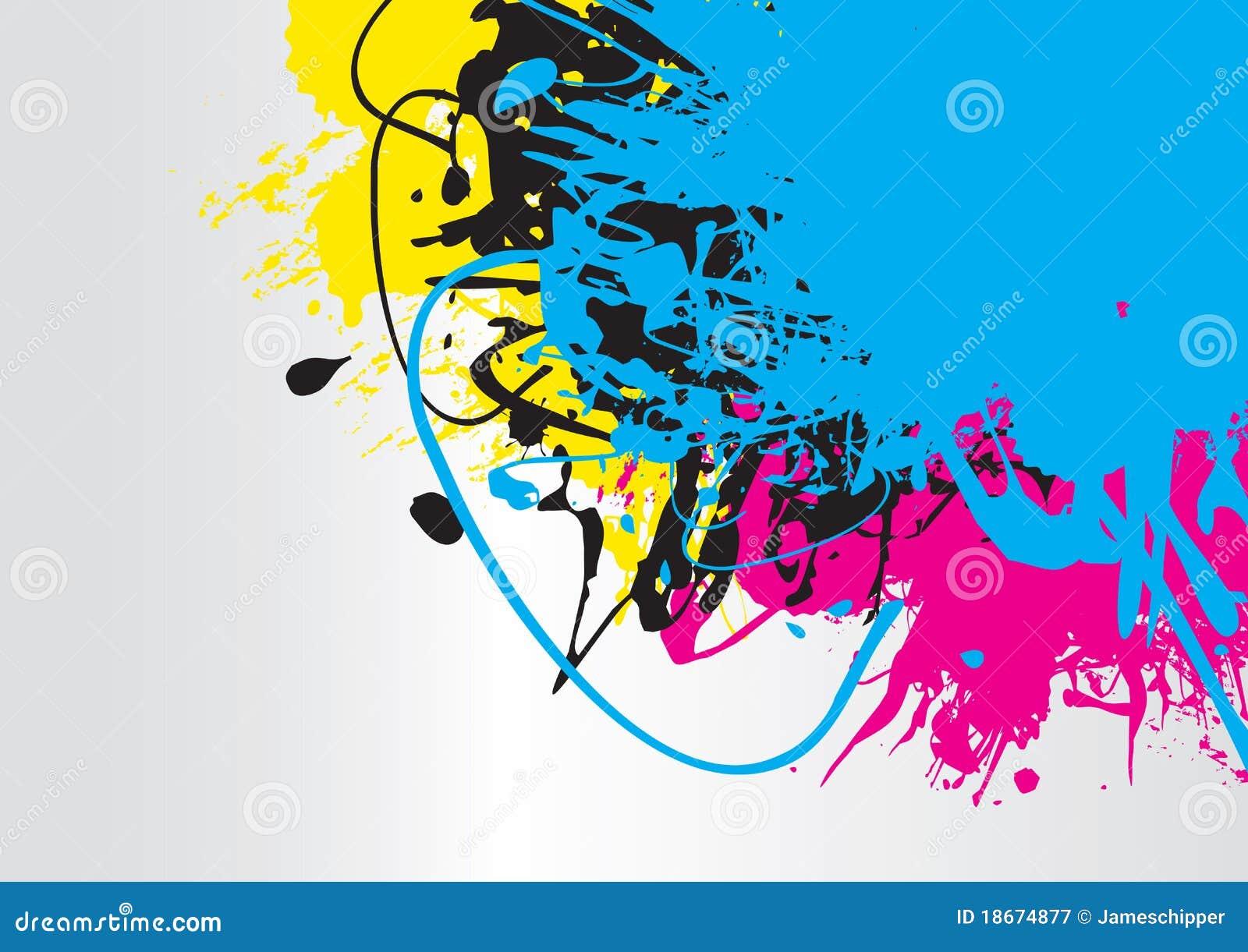 Färgstänk