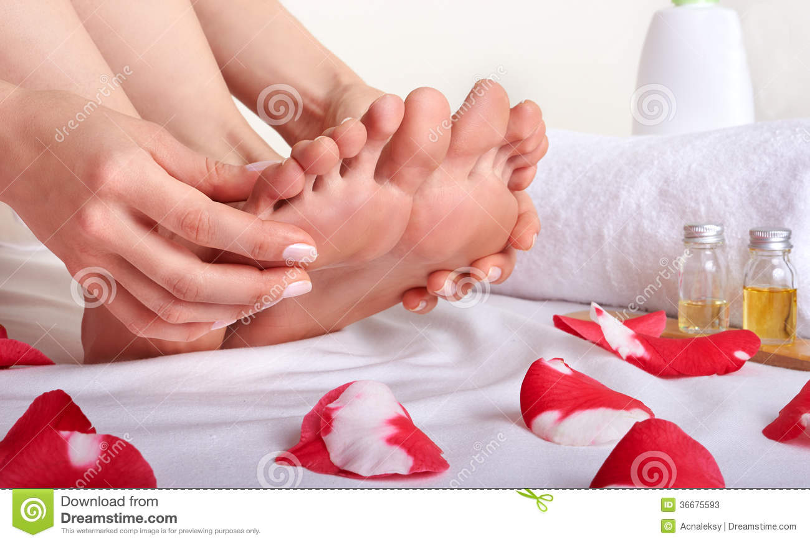 Få avslappnande massage