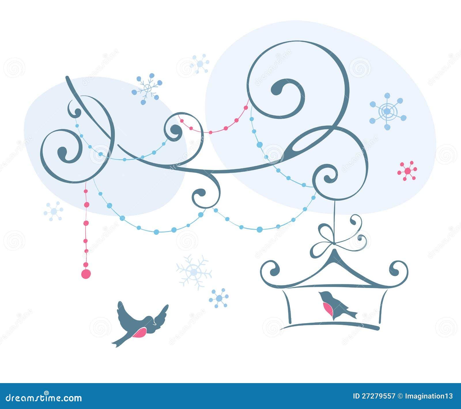 Fåglar i vinter