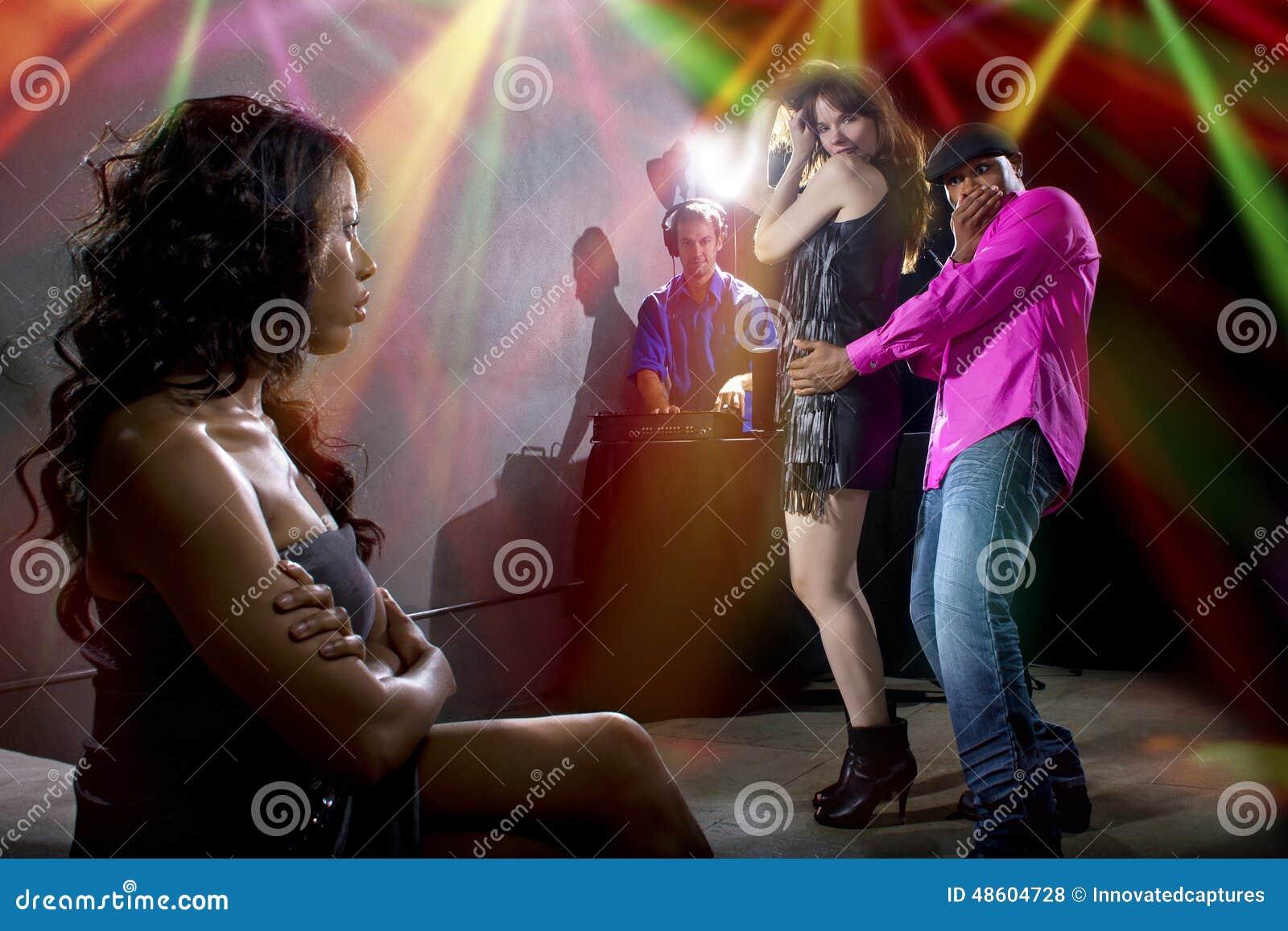 Fångat fusk på en nattklubb