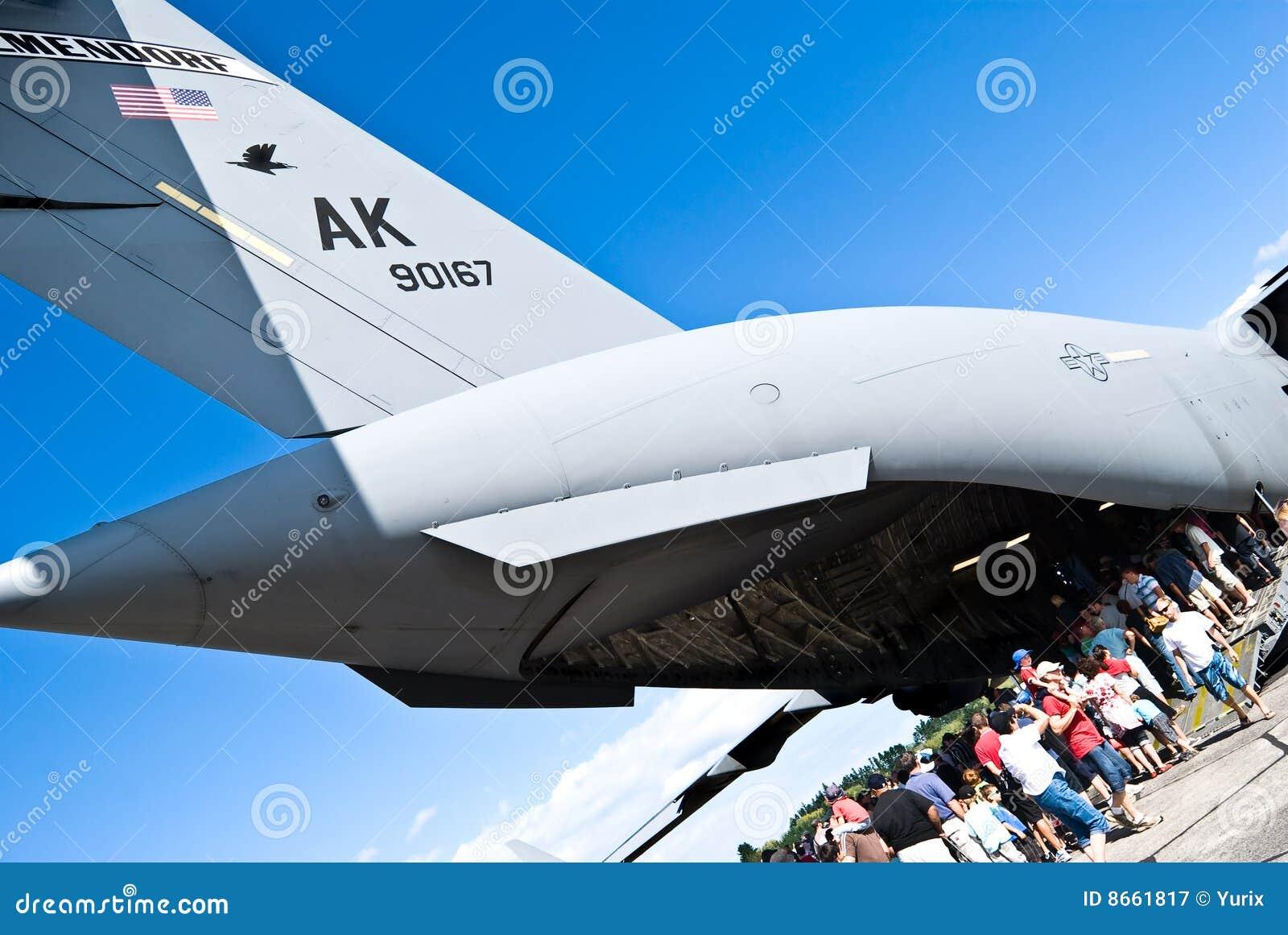 Fête aérienne. C-17 de Boeing Globemaster