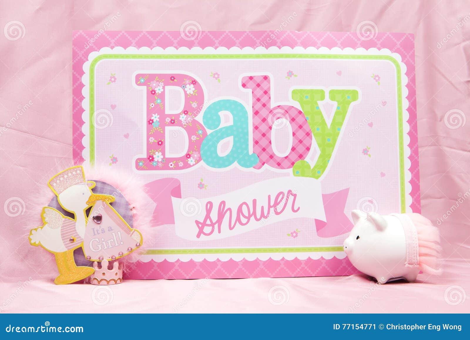 Fête de naissance rose