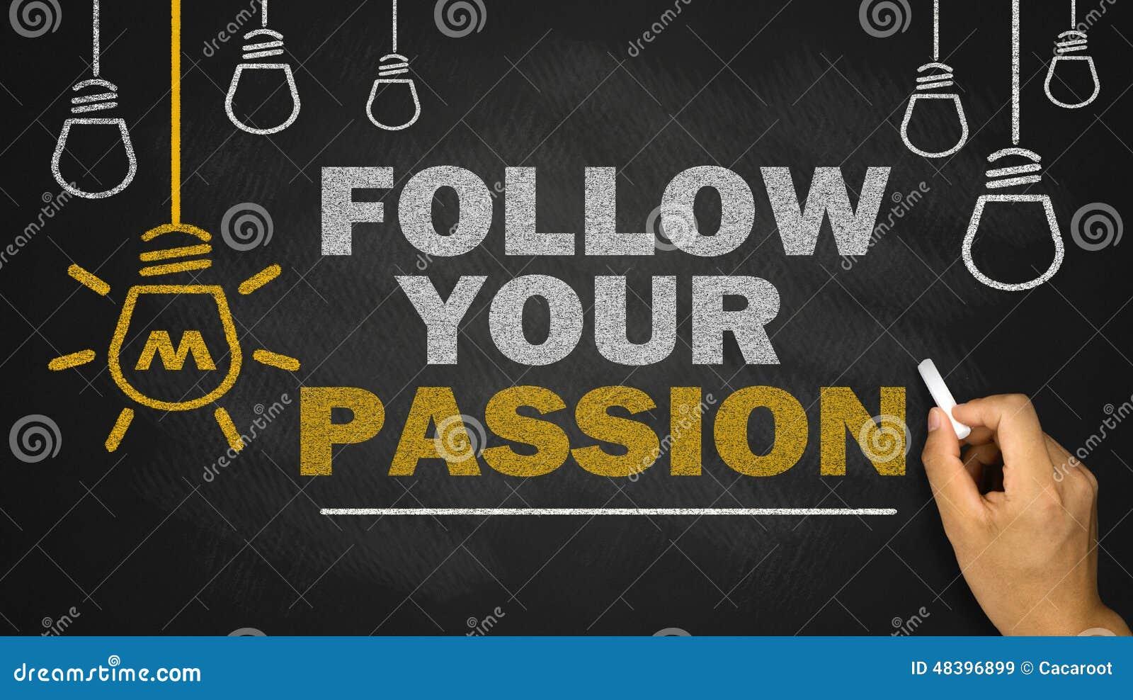 Följ din passion