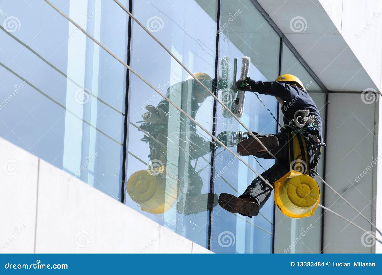 Fönster för 2 rengöringsmedel