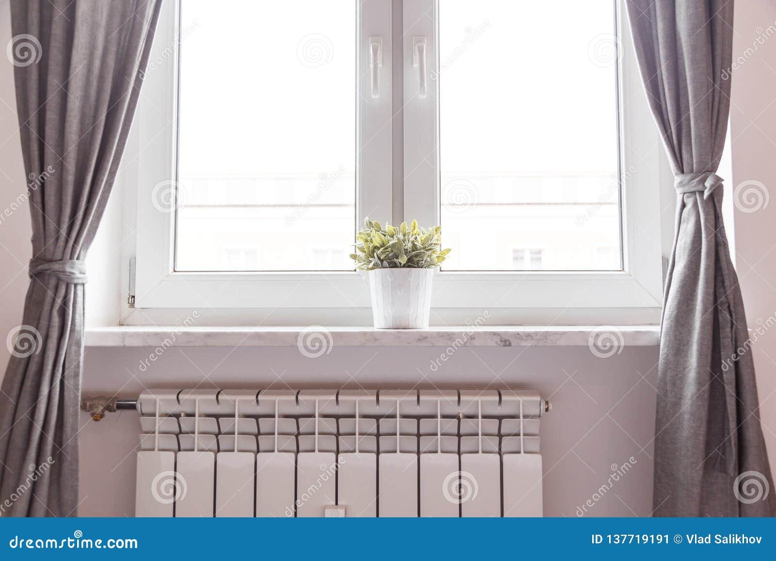Fönster och element i rum