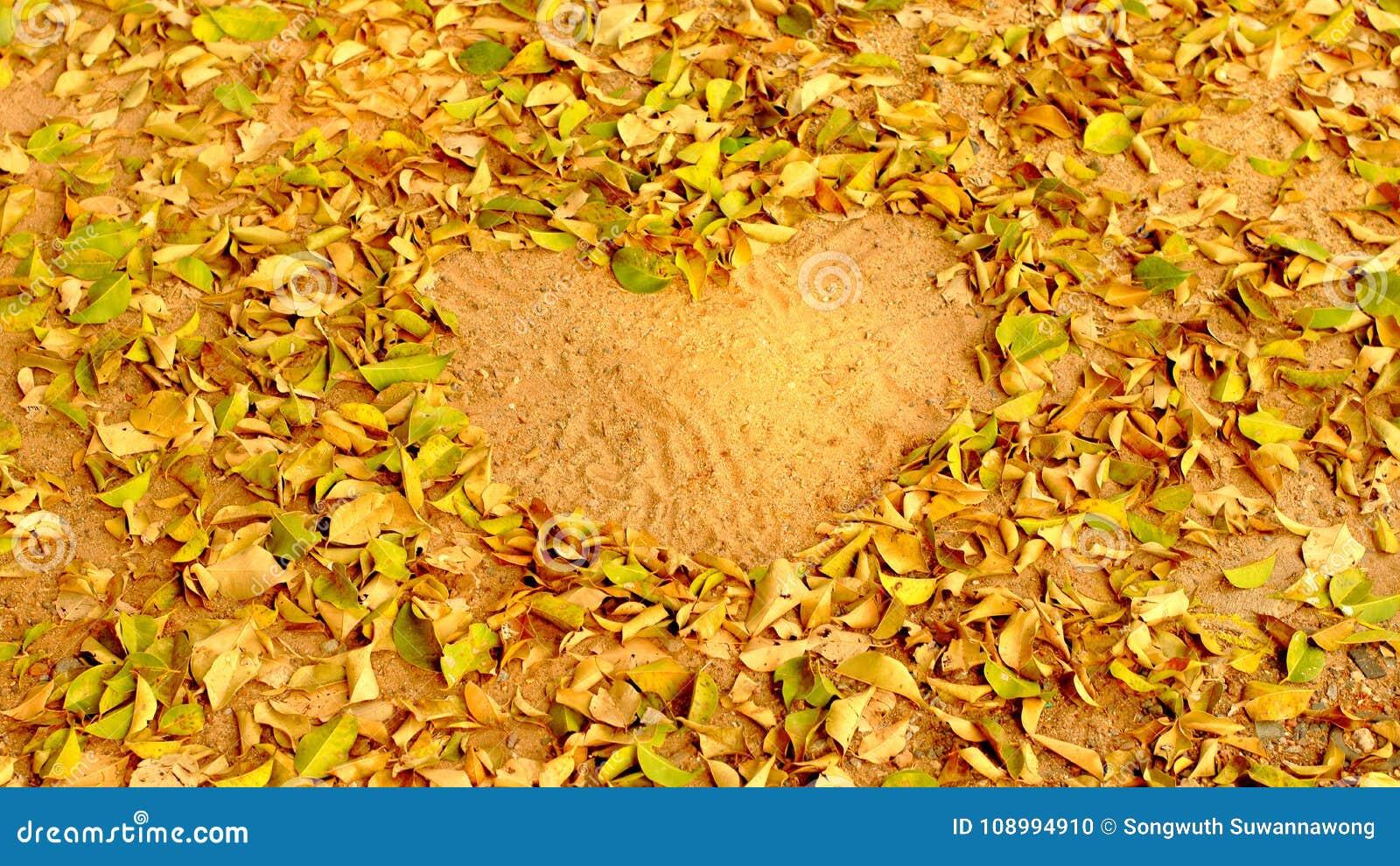Förälskad hjärtaform för sidor