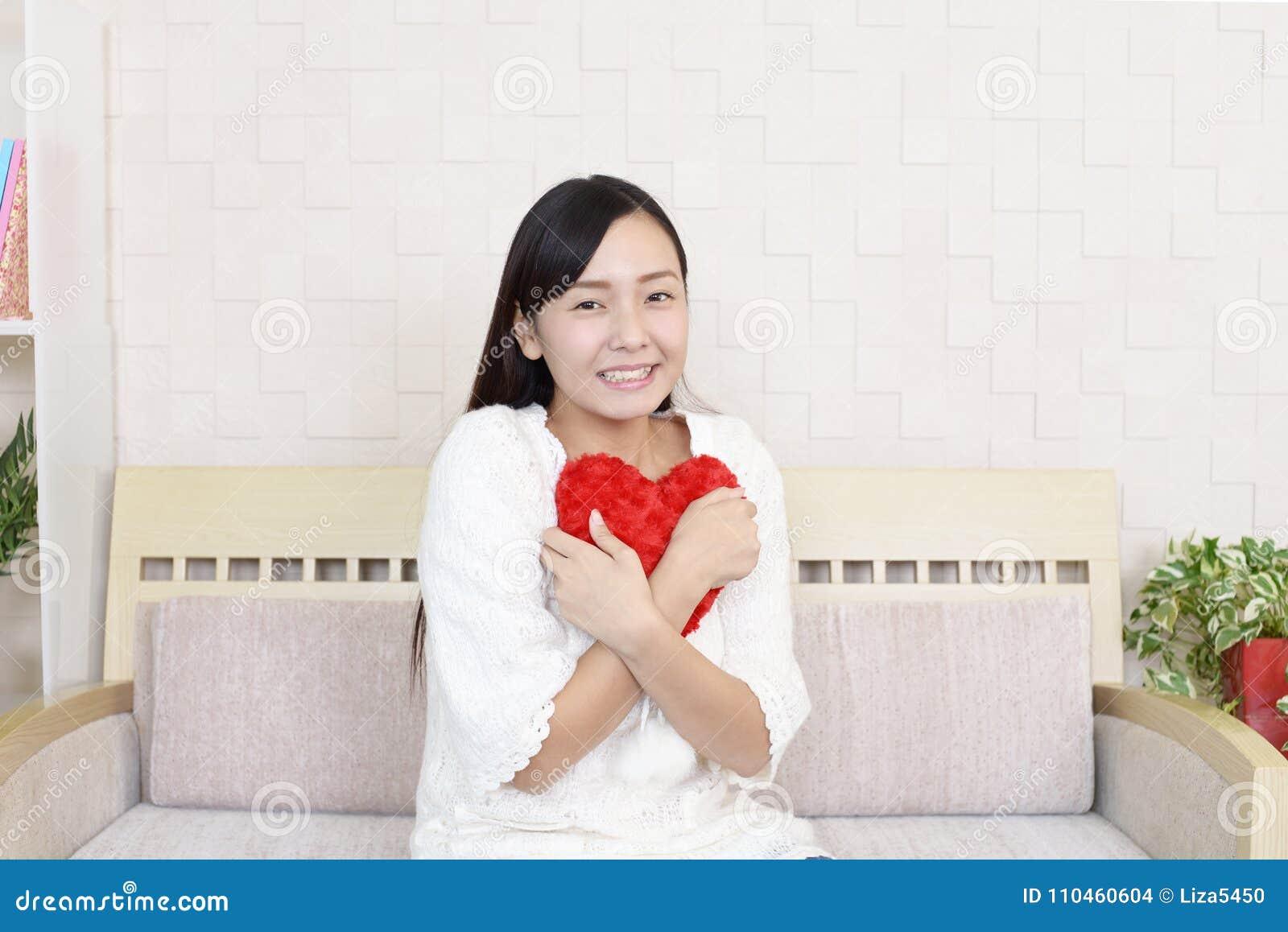 Förälskad kvinna