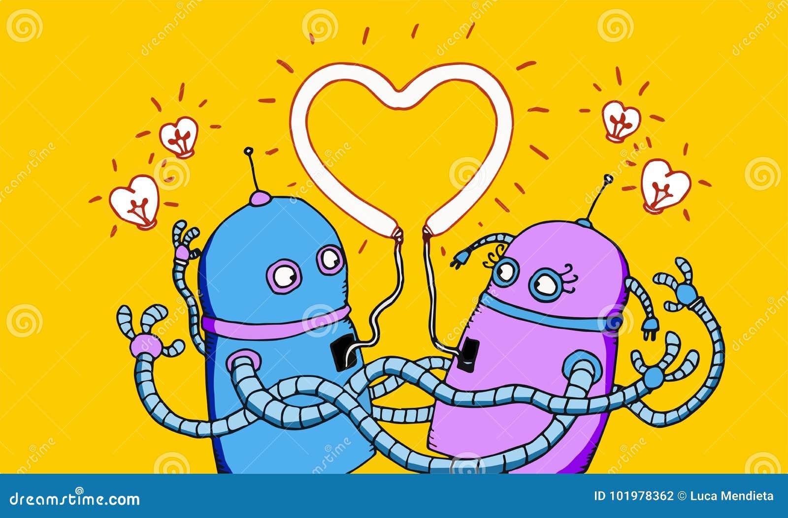Förälskade robotar