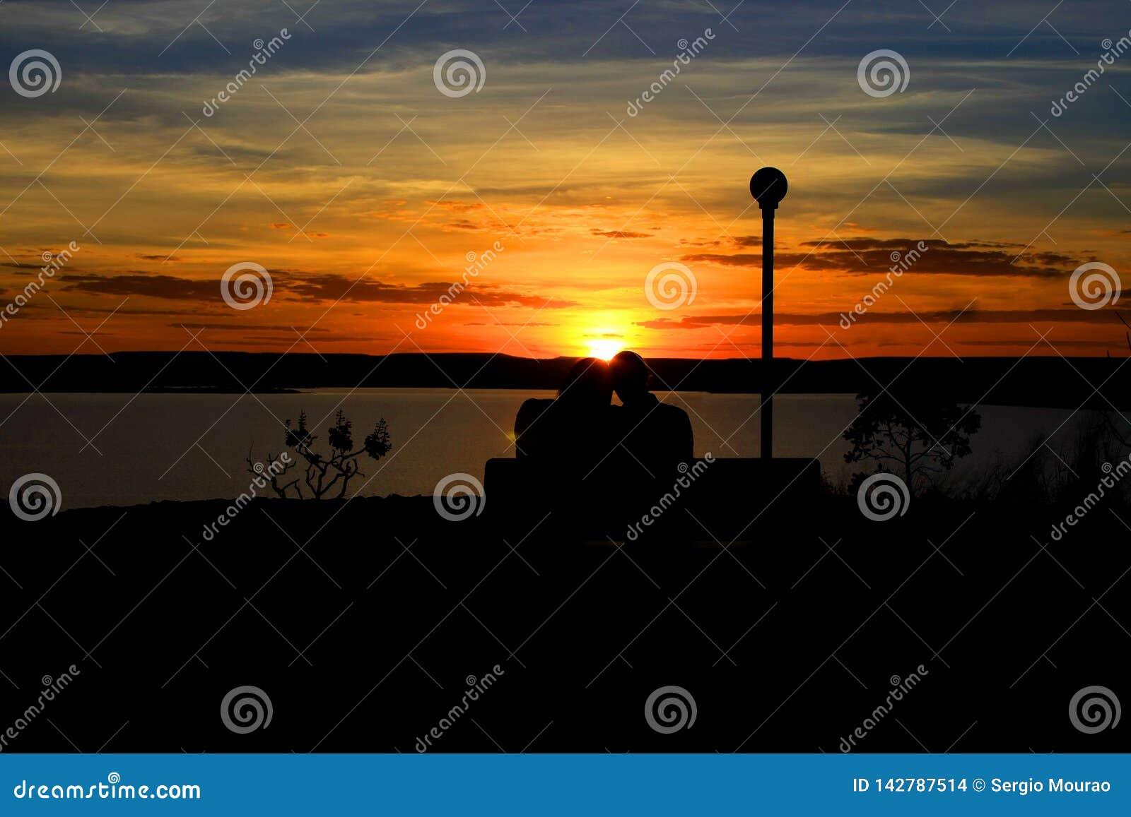 Förälskat med solnedgången