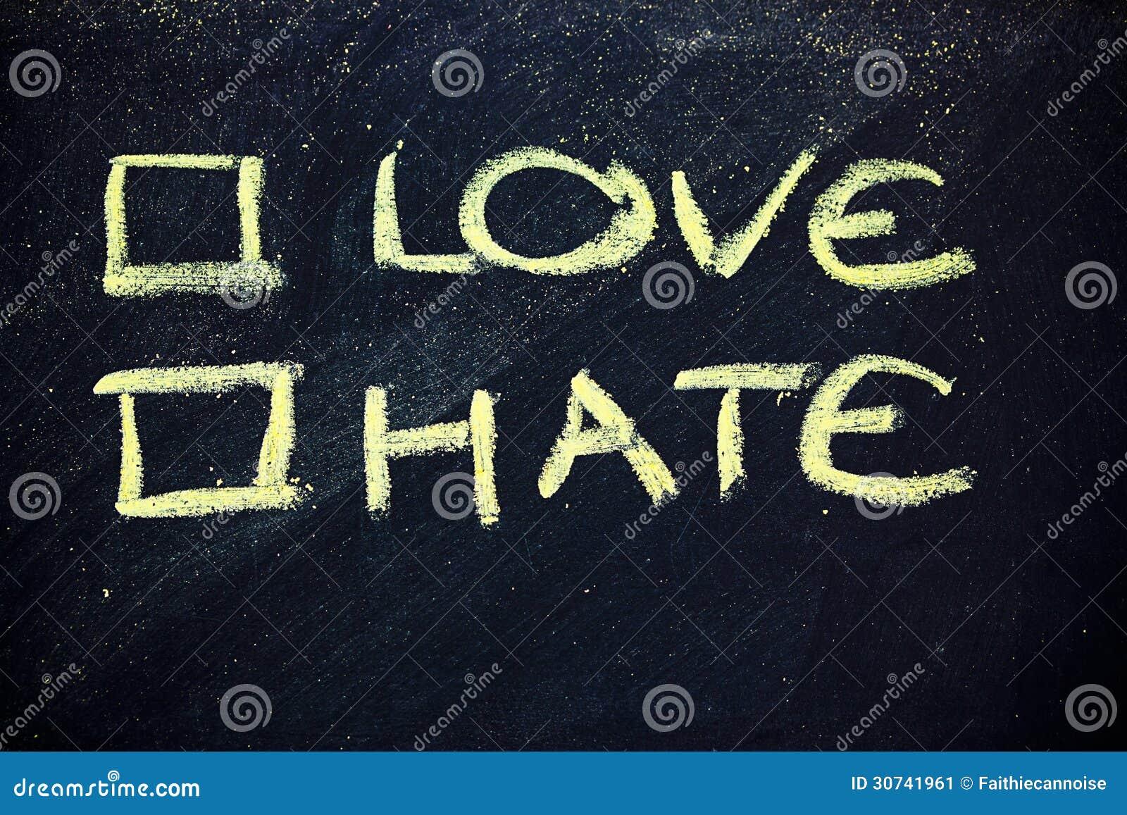 Förälskelse eller hat?