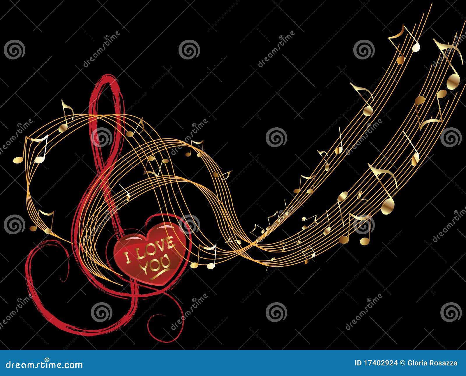 Förälskelsemusikanmärkning