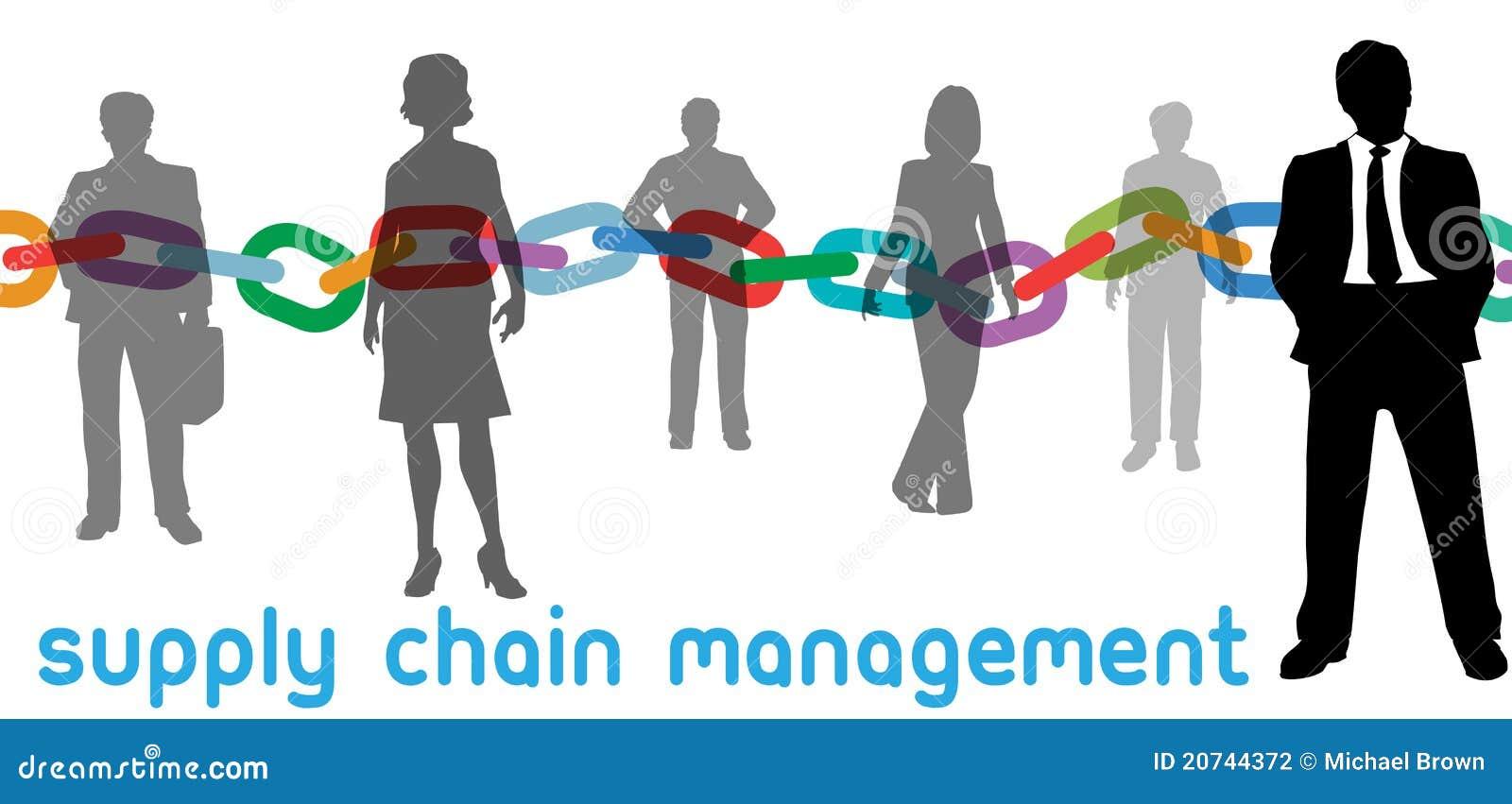 För administrationsfolk för affär chain tillförsel för scm