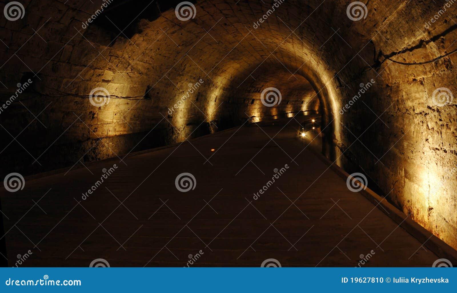 För berömd templar tunnel israel för tunnland landmark