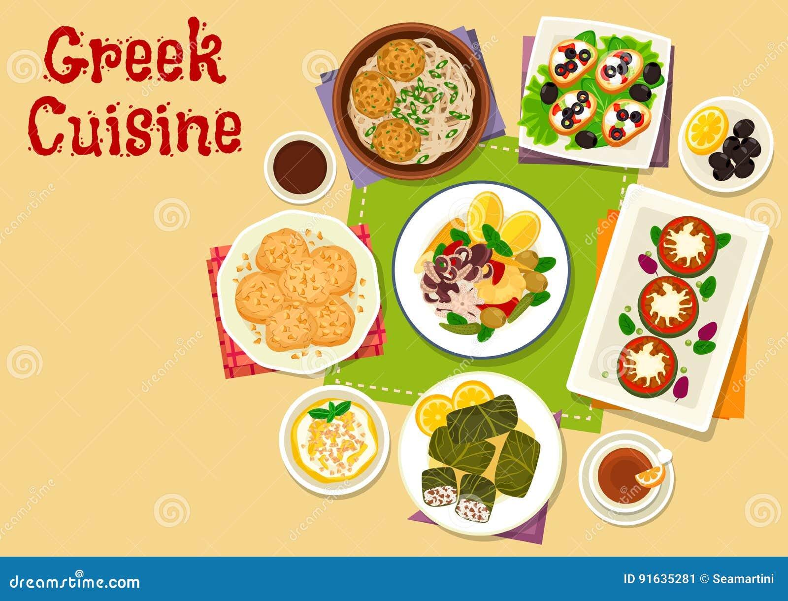 För disksymbol för grekisk kokkonst sund design