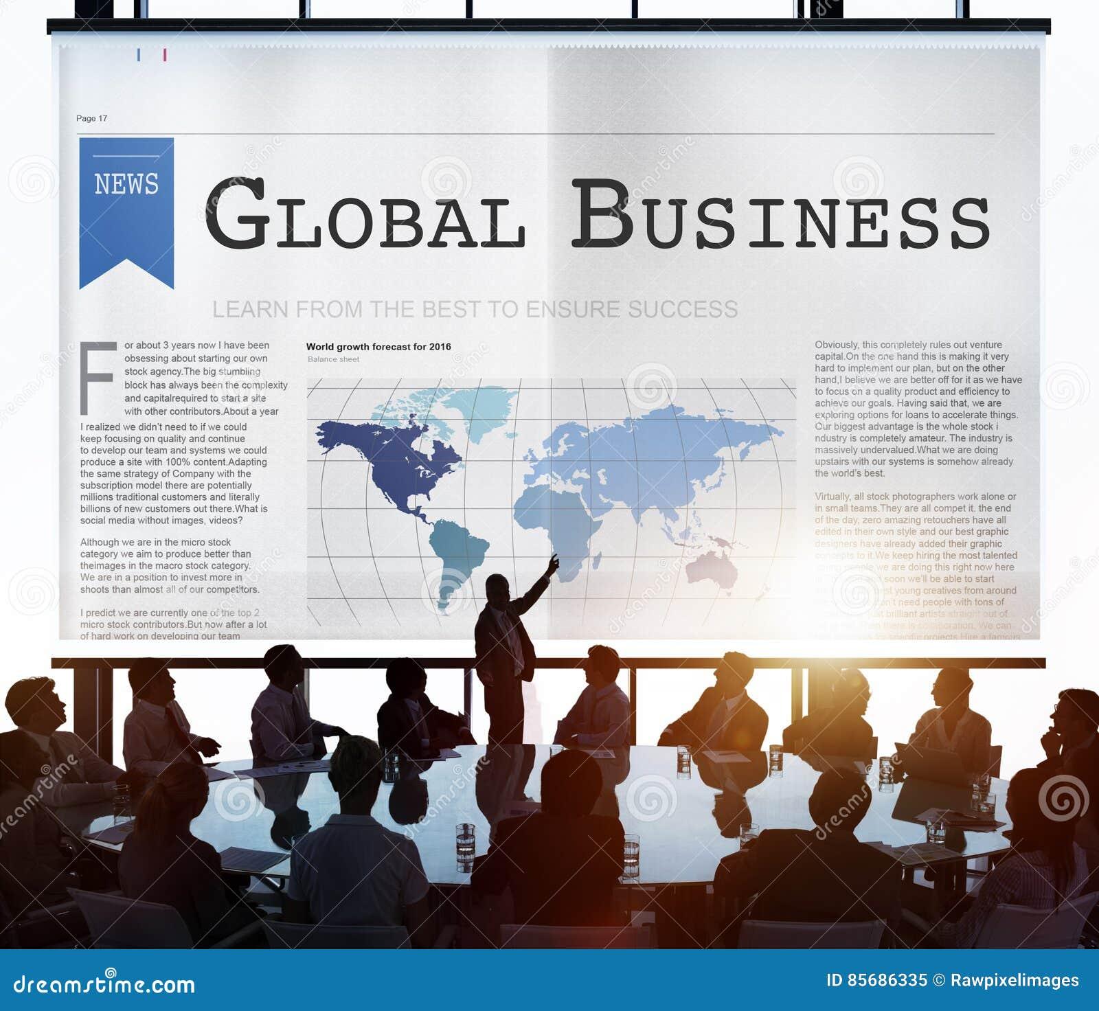 För exportimport för global affär begrepp för tillväxt för nätverkande