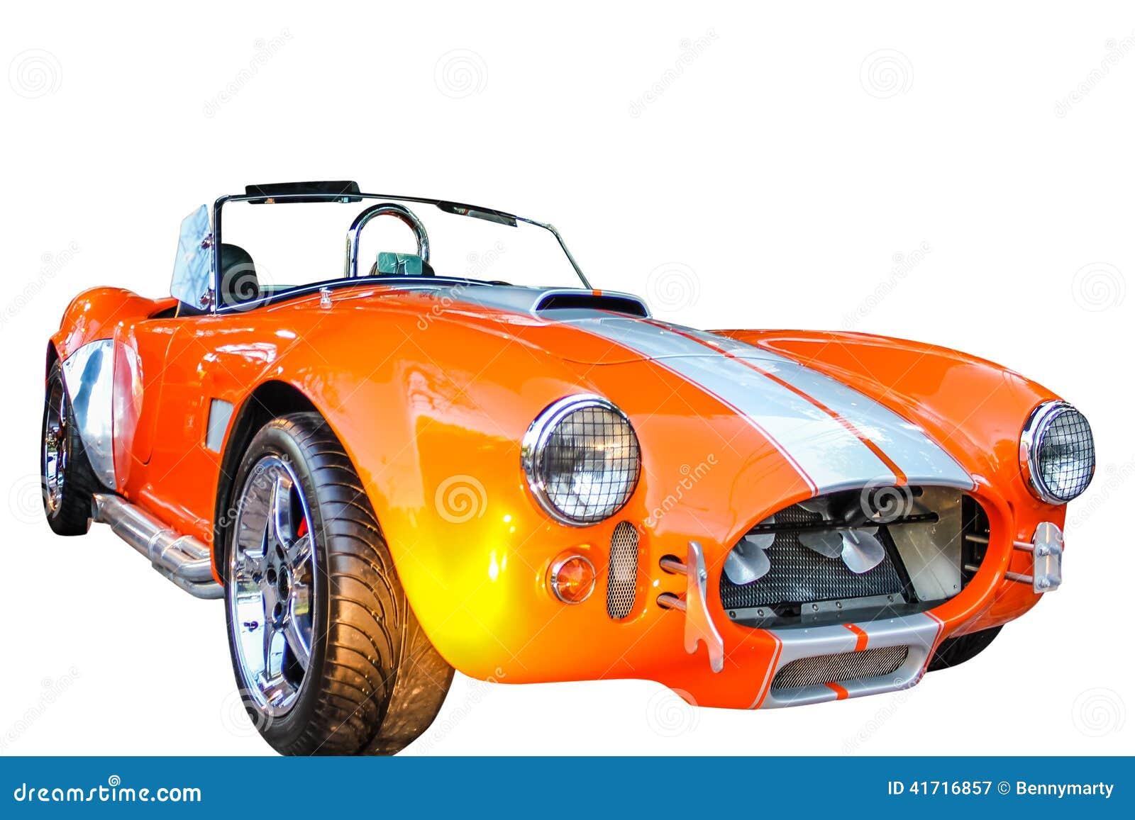 För Ford för cabrio 0range bil sport