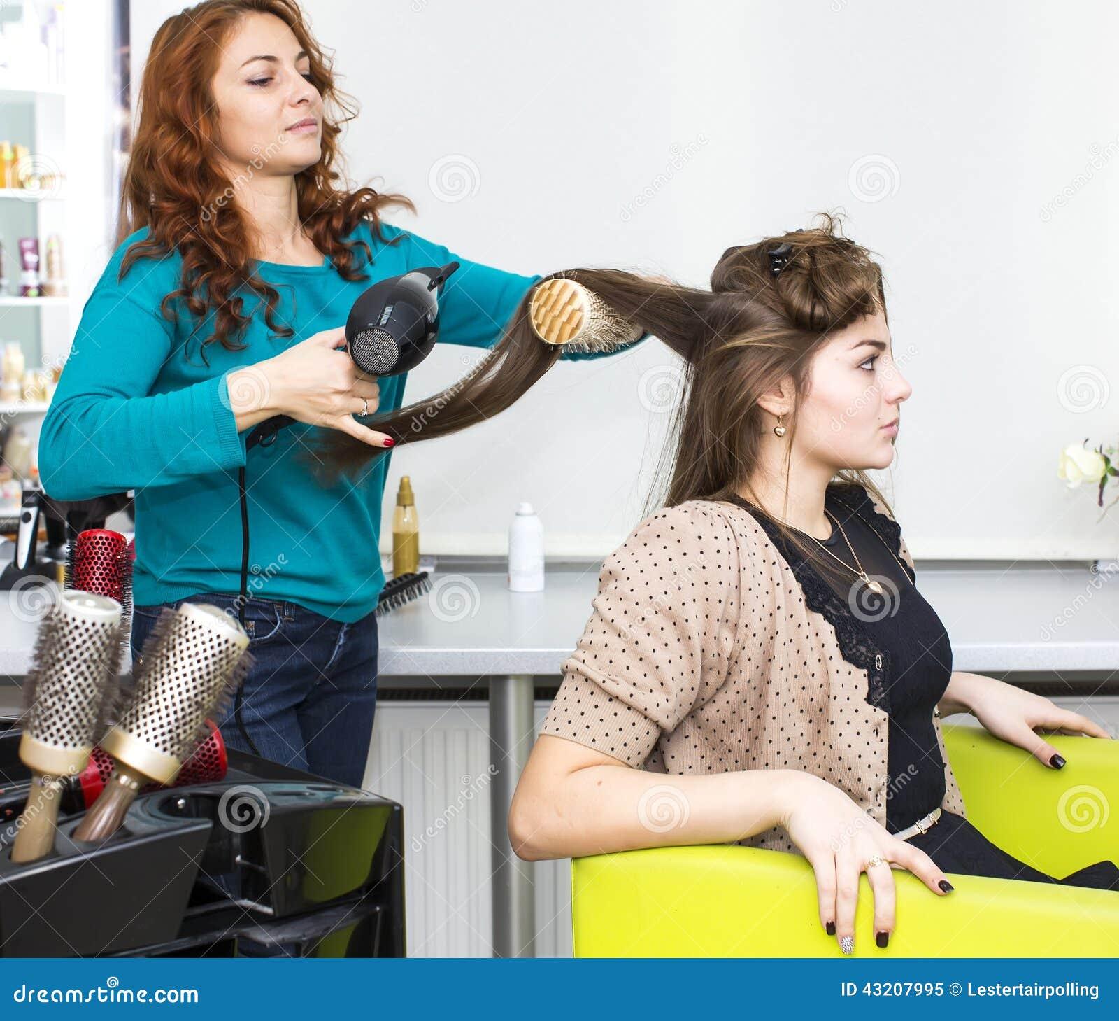 Download För Fotosalong För Skönhet Begreppsmässig Kvinna Fotografering för Bildbyråer - Bild av haircare, kvinnor: 43207995